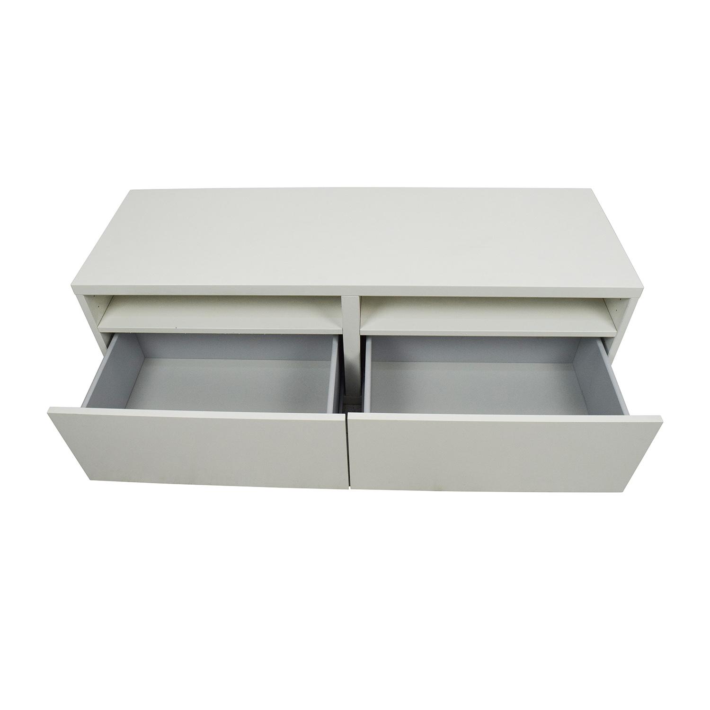50 off ikea ikea media unit with drawers storage for Media dresser ikea