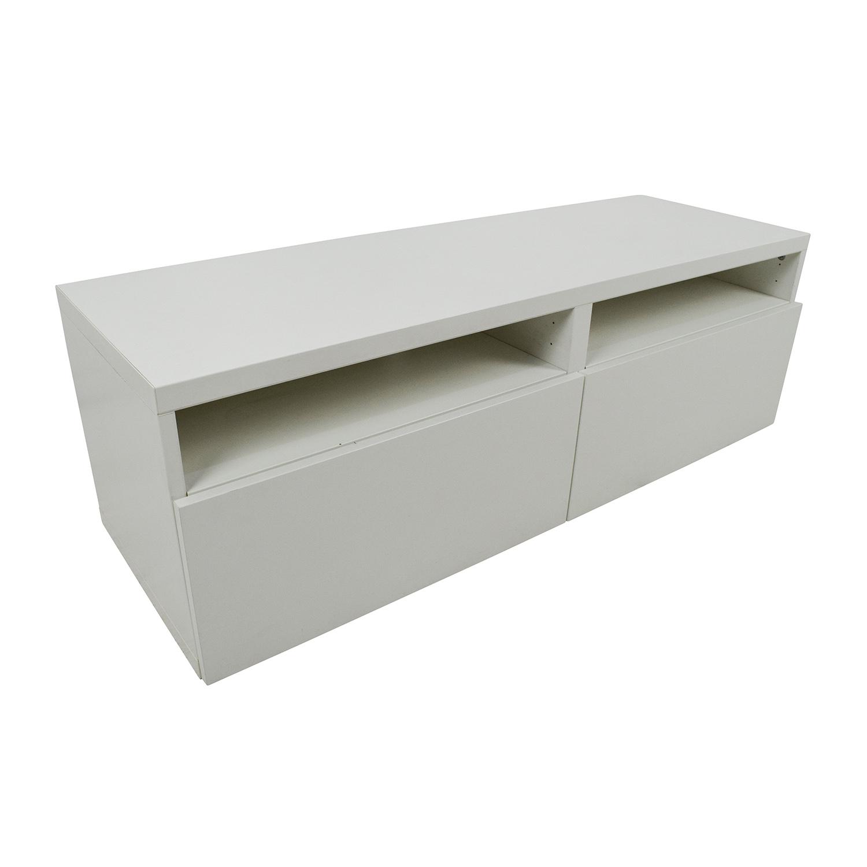 50 off ikea ikea media unit with drawers storage for Ikea storage bin unit