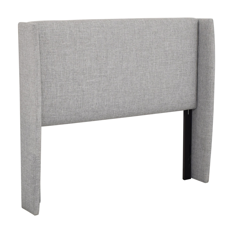 buy Skyline Upholstered Wingback Headboard Skyline Furniture Headboards