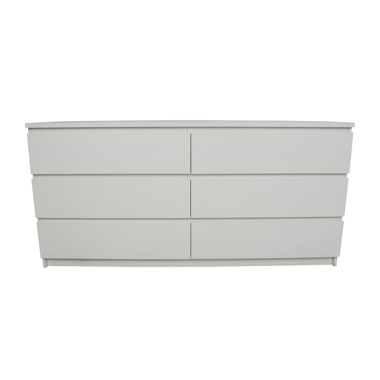 IKEA Six Drawer Dresser / Storage