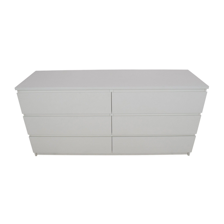 shop IKEA Six Drawer Dresser IKEA Storage