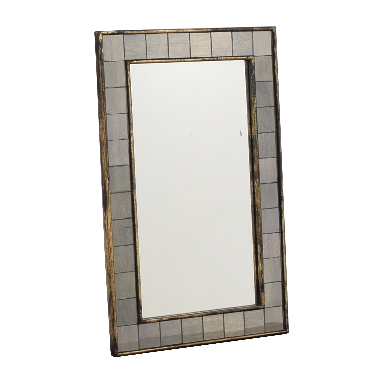 West Elm West Elm Tiled Mirror dimensions