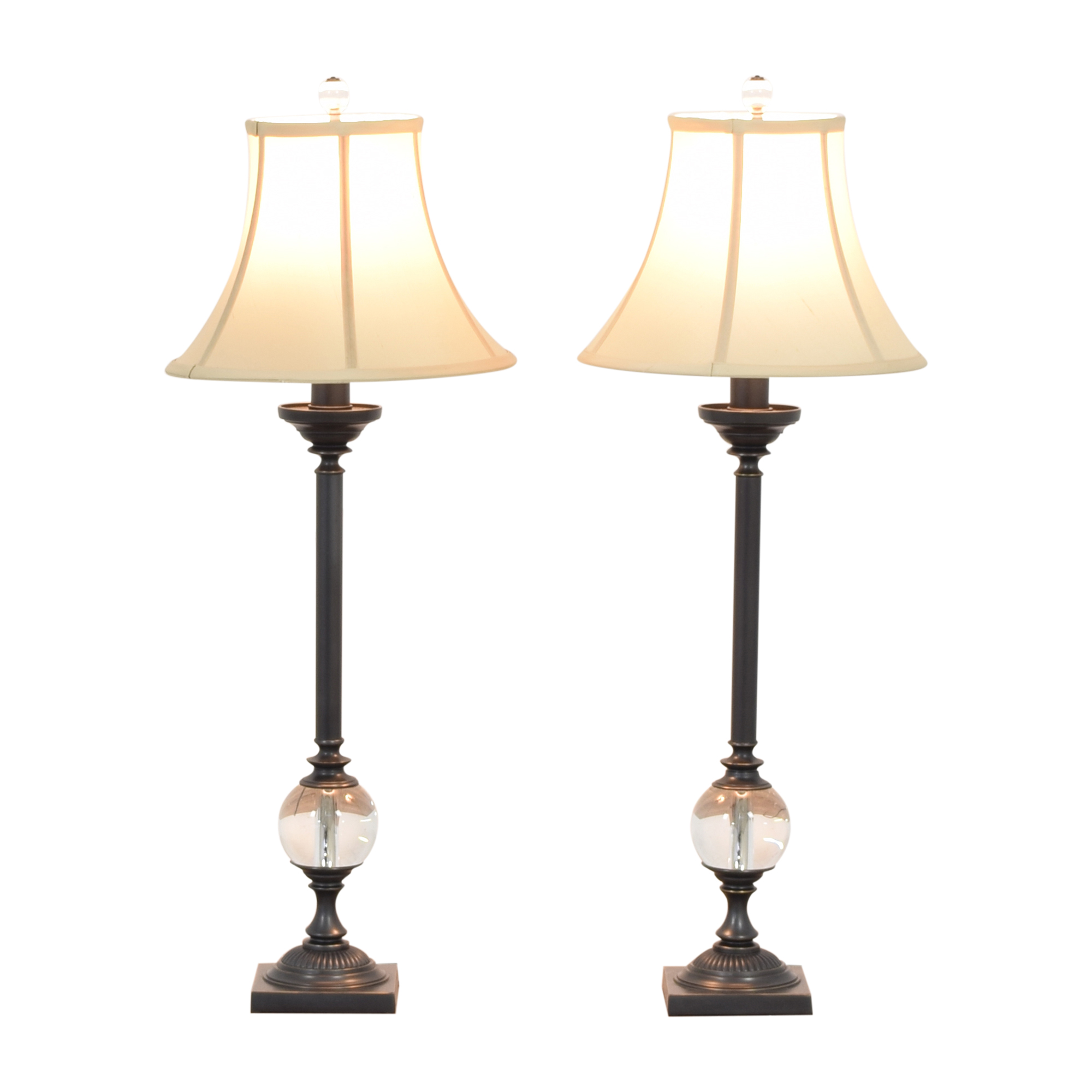 Restoration Hardware Restoration Hardware Crystal Ball Table Lamps nyc