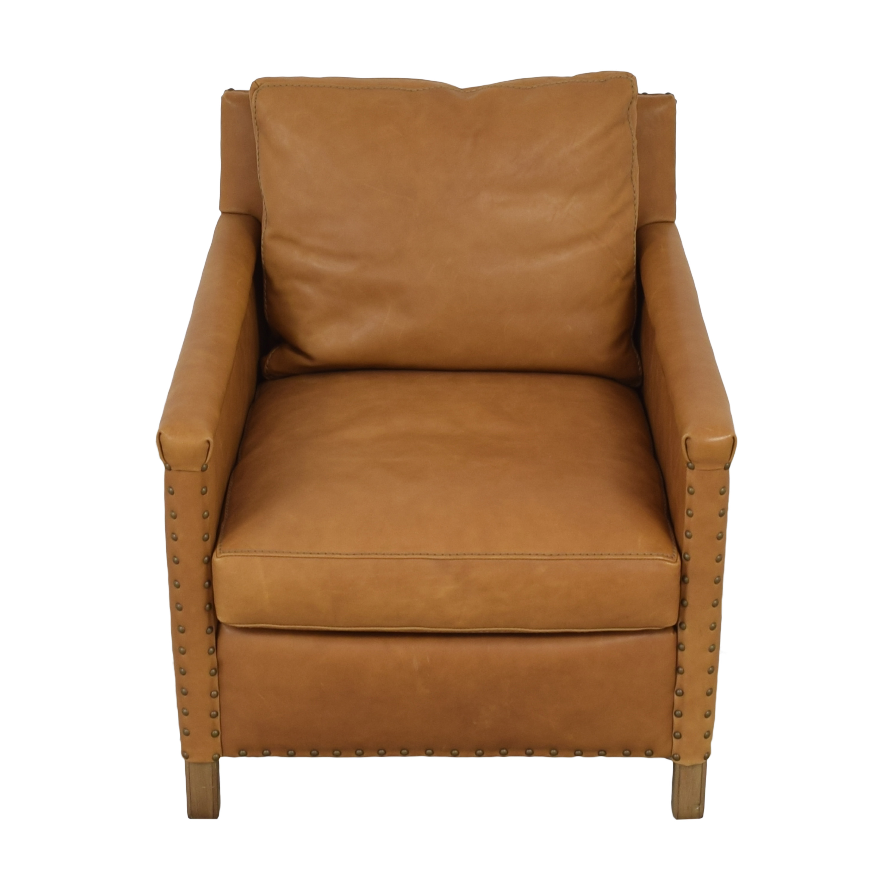 Crate & Barrel Crate & Barrel Trevor Leather Chair nyc