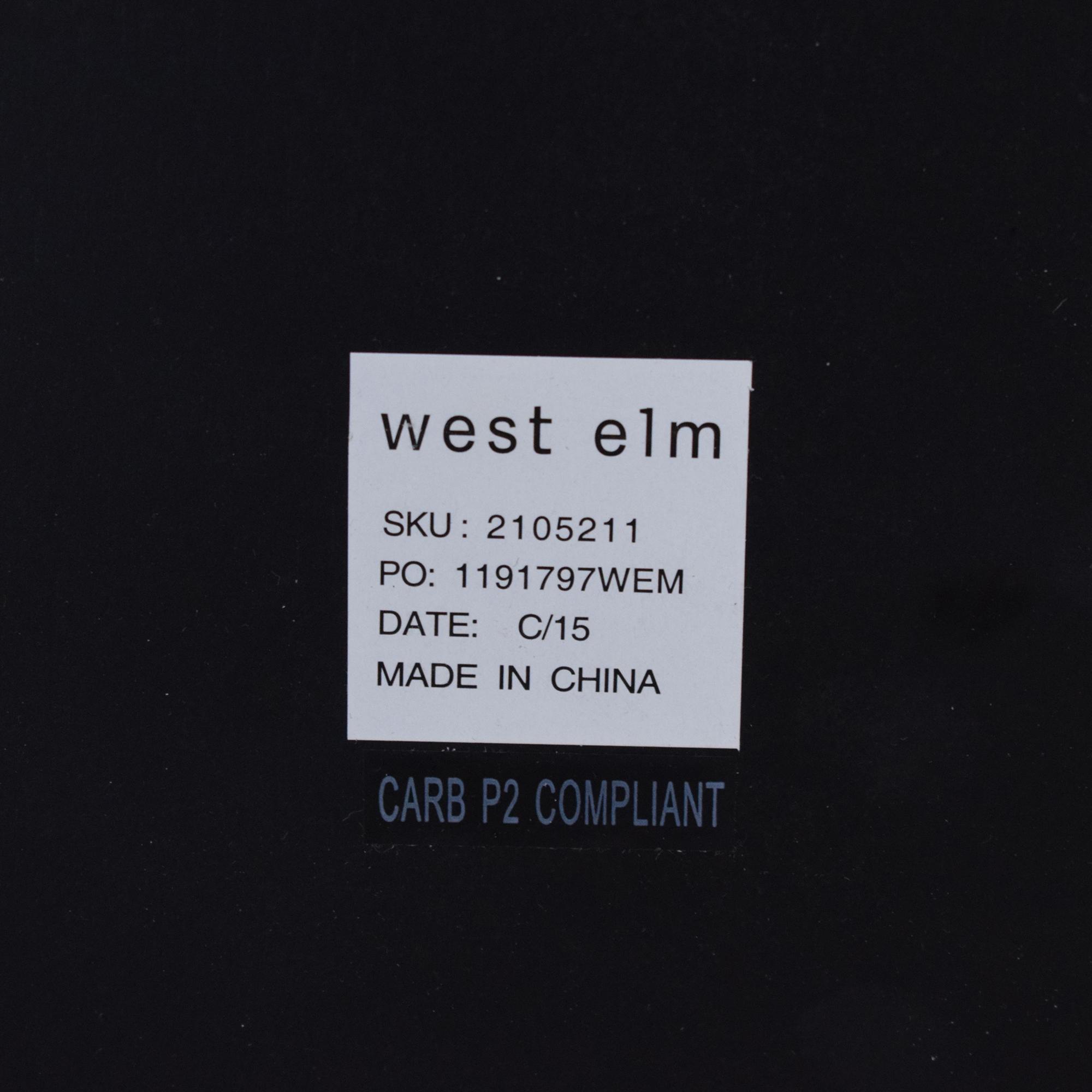 West Elm West Elm Chevron Tile Floor Mirrors discount