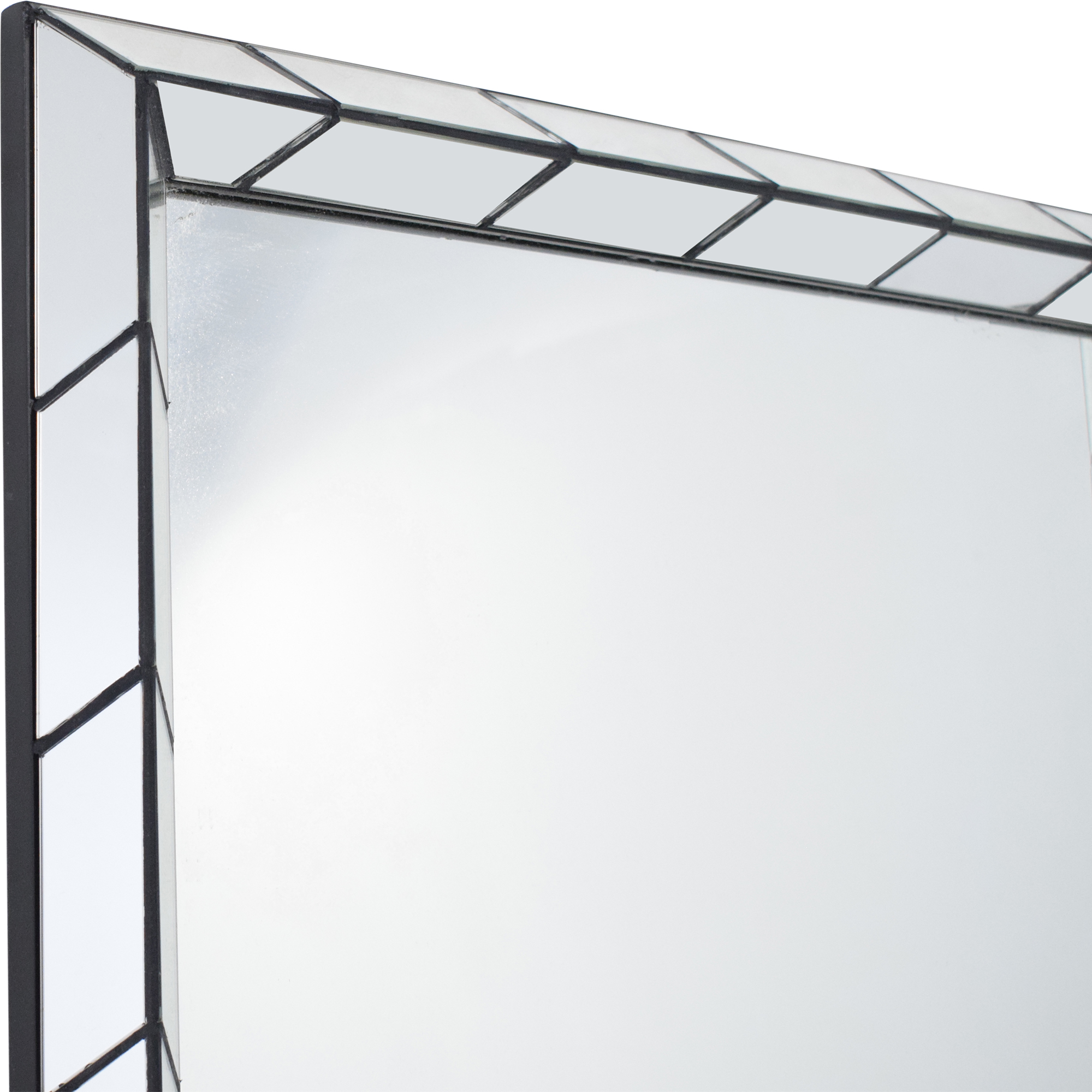 buy West Elm Chevron Tile Floor Mirrors West Elm Mirrors