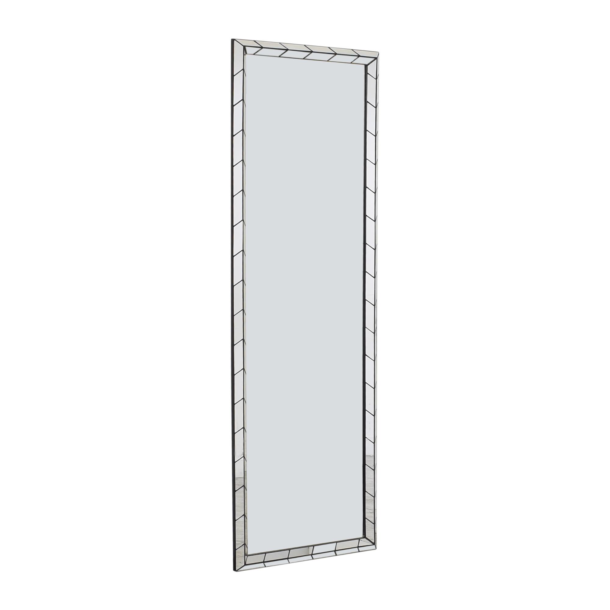 buy West Elm Chevron Tile Floor Mirrors West Elm