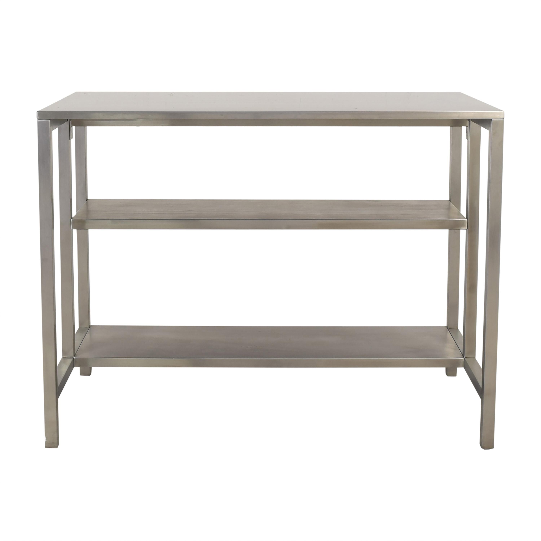 CB2 CB2 Coterie Kitchen Cart Utility Tables