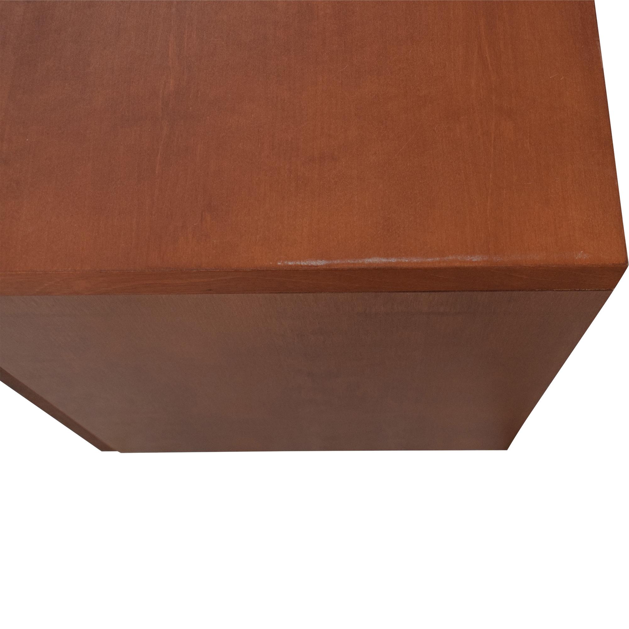 Design Within Reach Design Within Reach Desk with File Pedestal pa