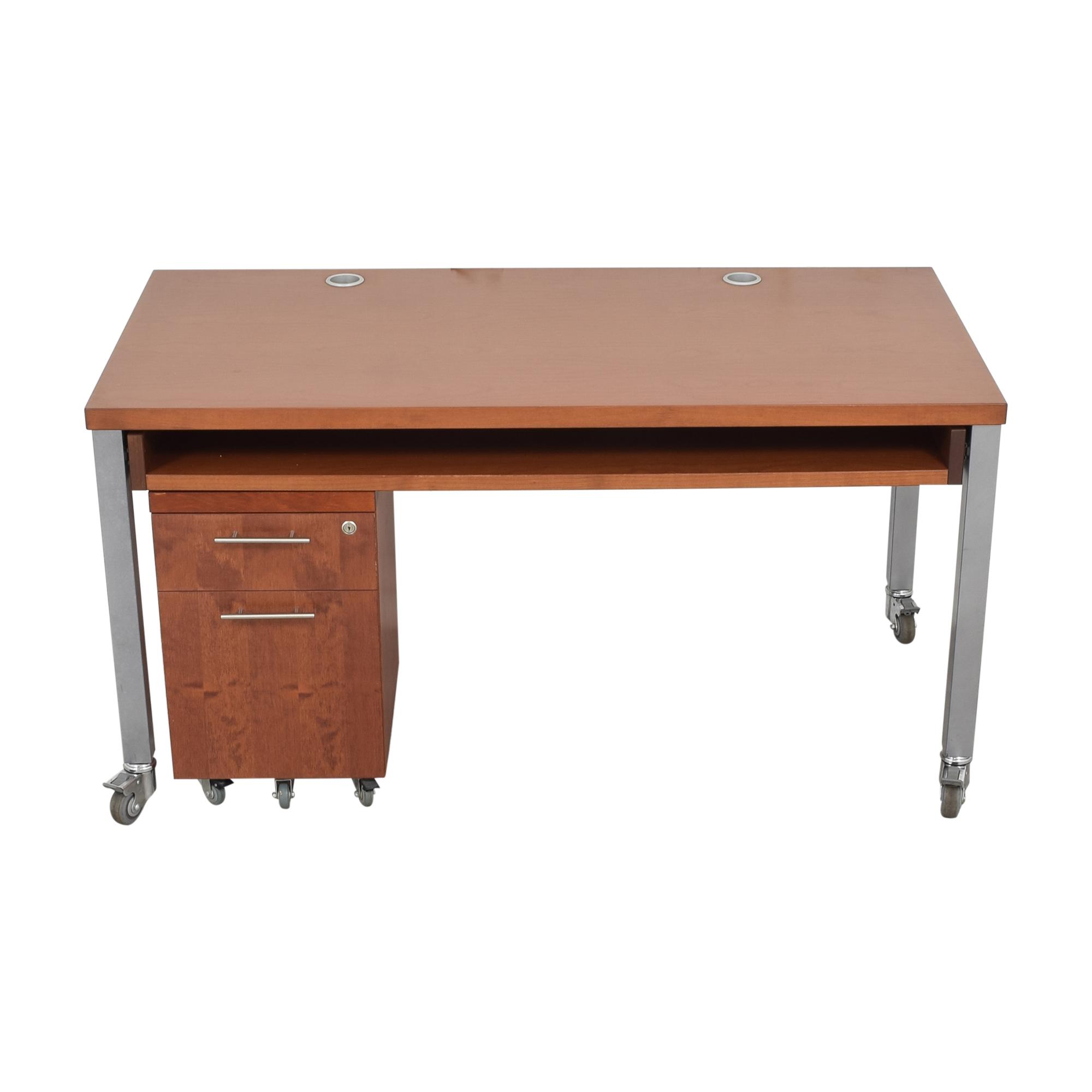 shop Design Within Reach Desk with File Pedestal Design Within Reach Home Office Desks