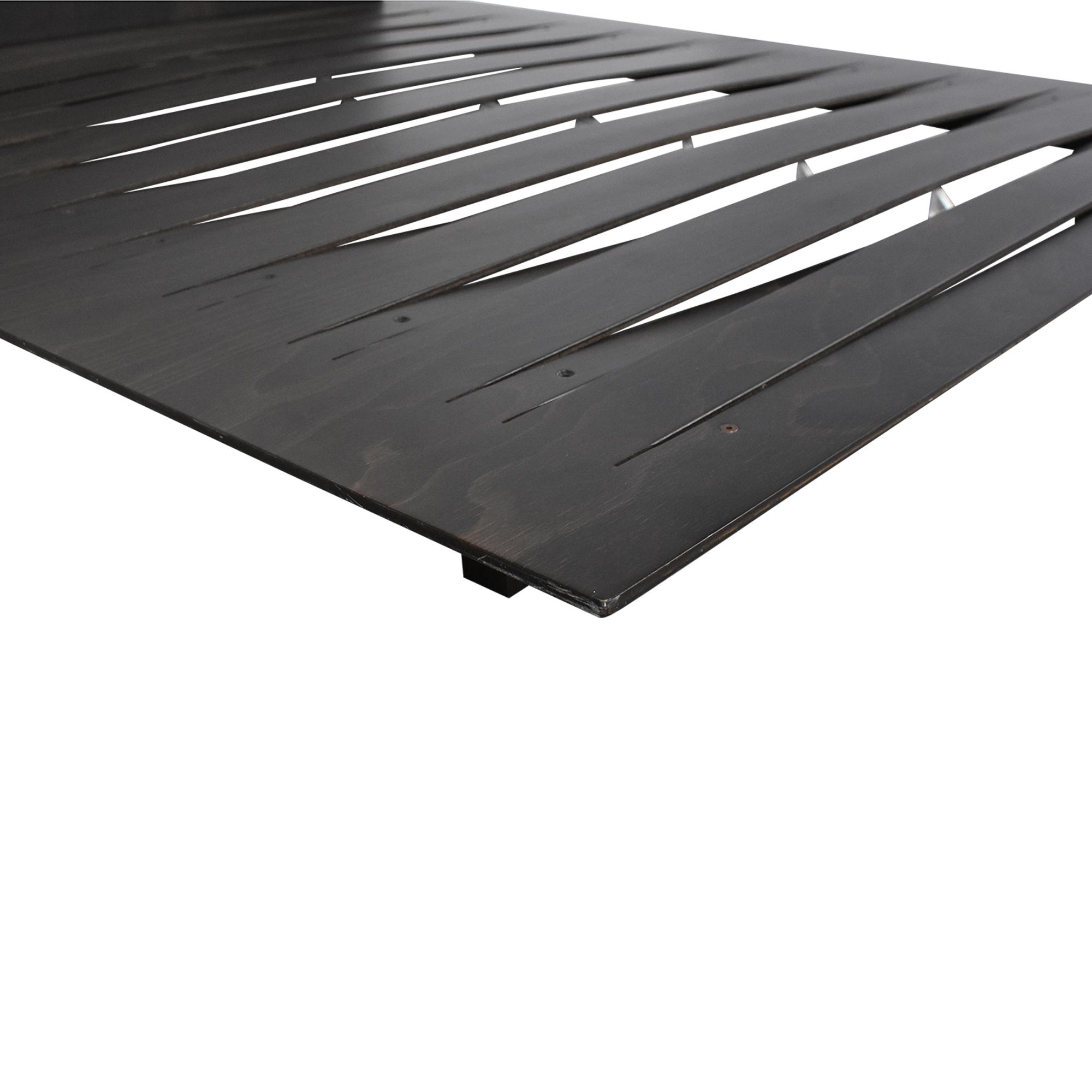 Horm Horm Sottiletto Full/Queen Mid-Century Platform Bed on sale
