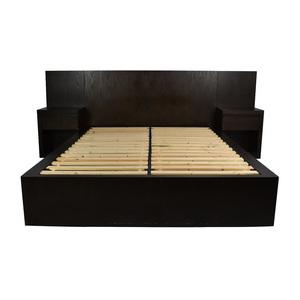 West Elm West Elm Queen Size Storage Platform Bed Frame second hand