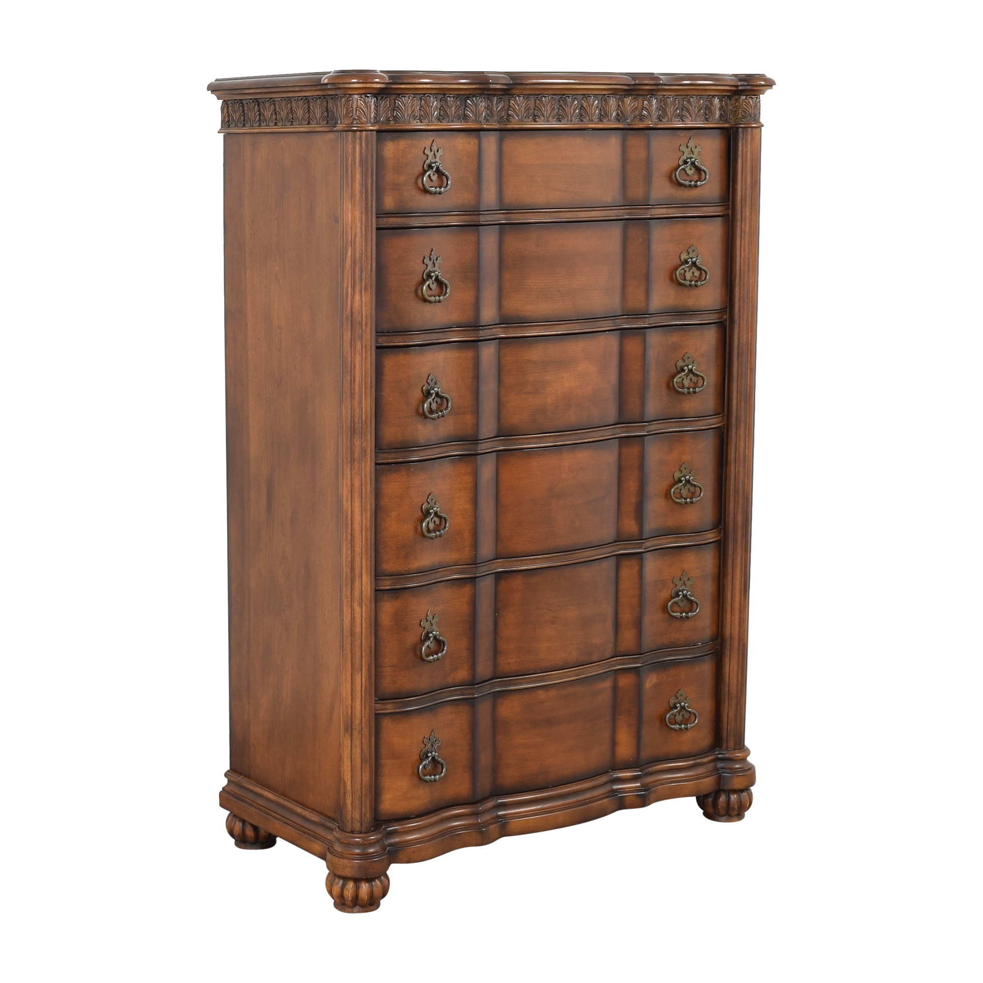 Pulaski Furniture Pulaski Six Drawer Grand Ornate Dresser on sale