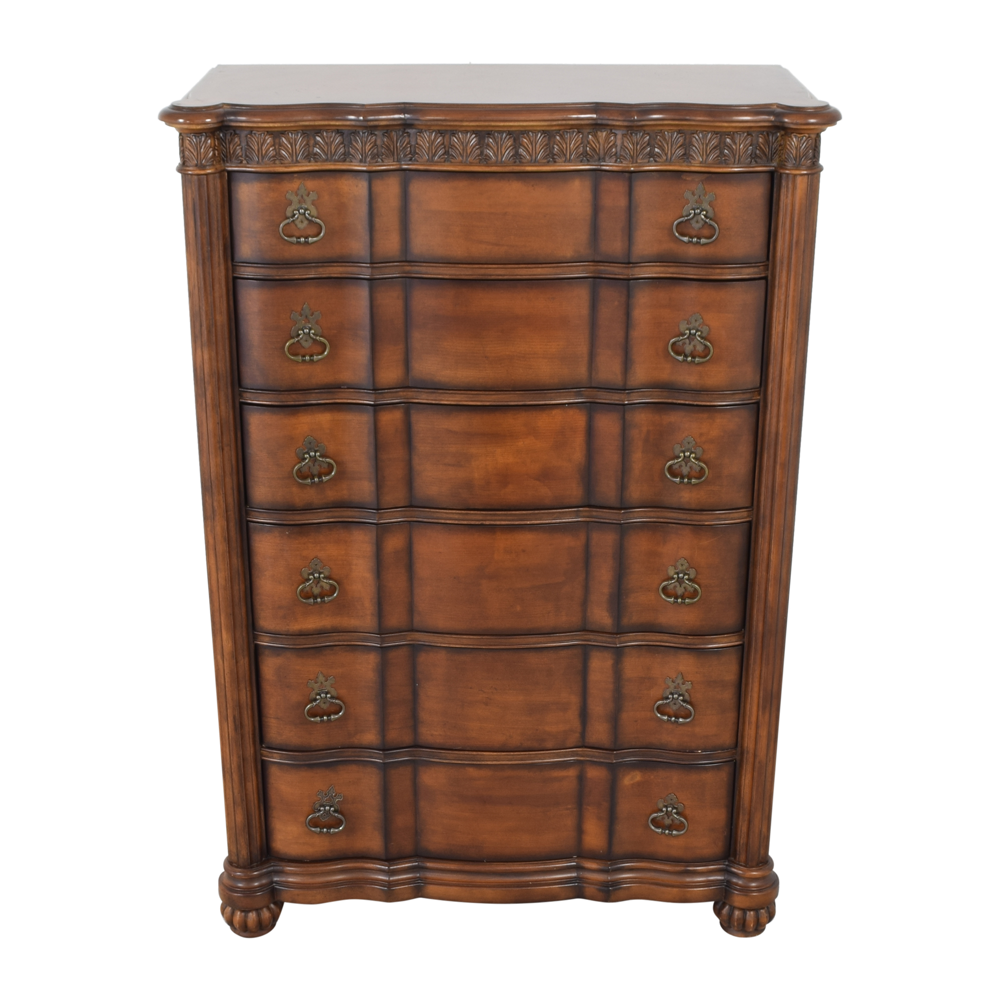 shop Pulaski Six Drawer Grand Ornate Dresser Pulaski Furniture Storage