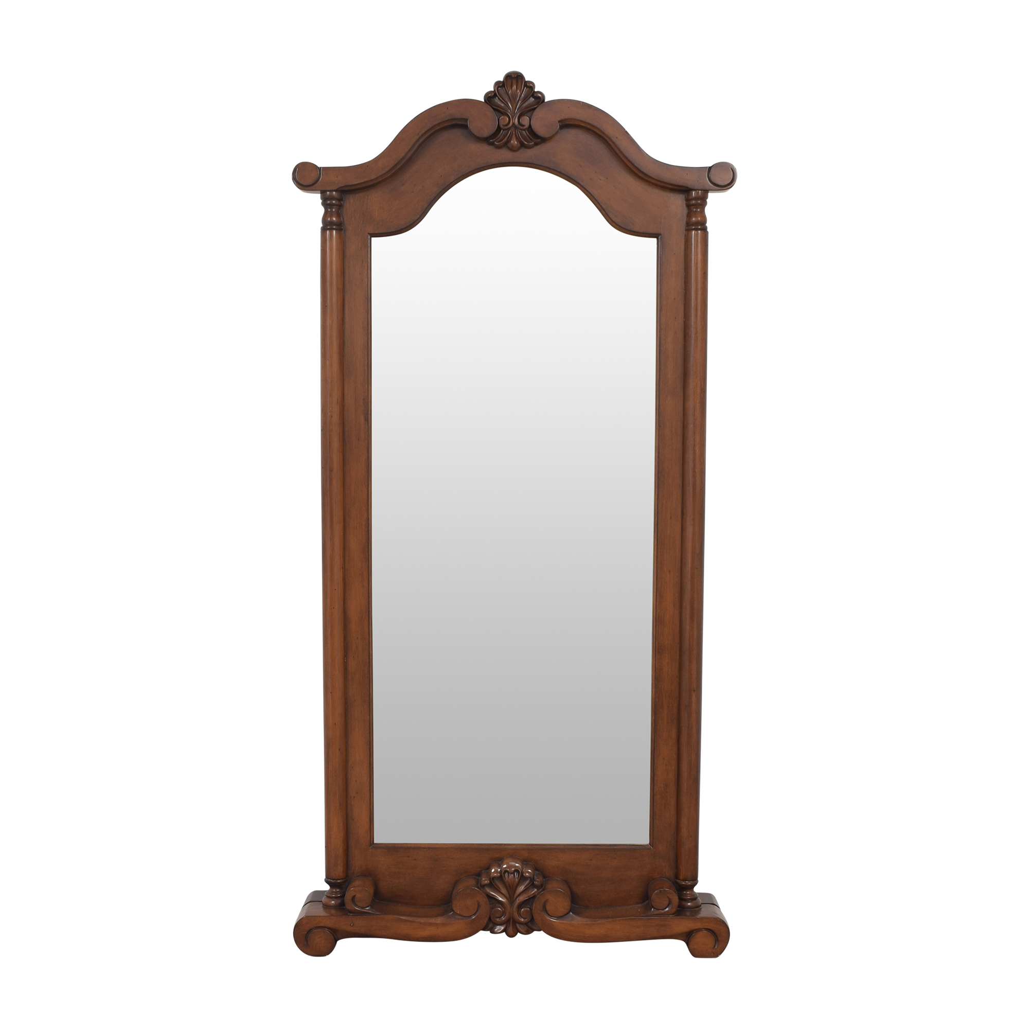 buy Coaster Fine Furniture Coaster Grand Warm Brown Floor Mirror online