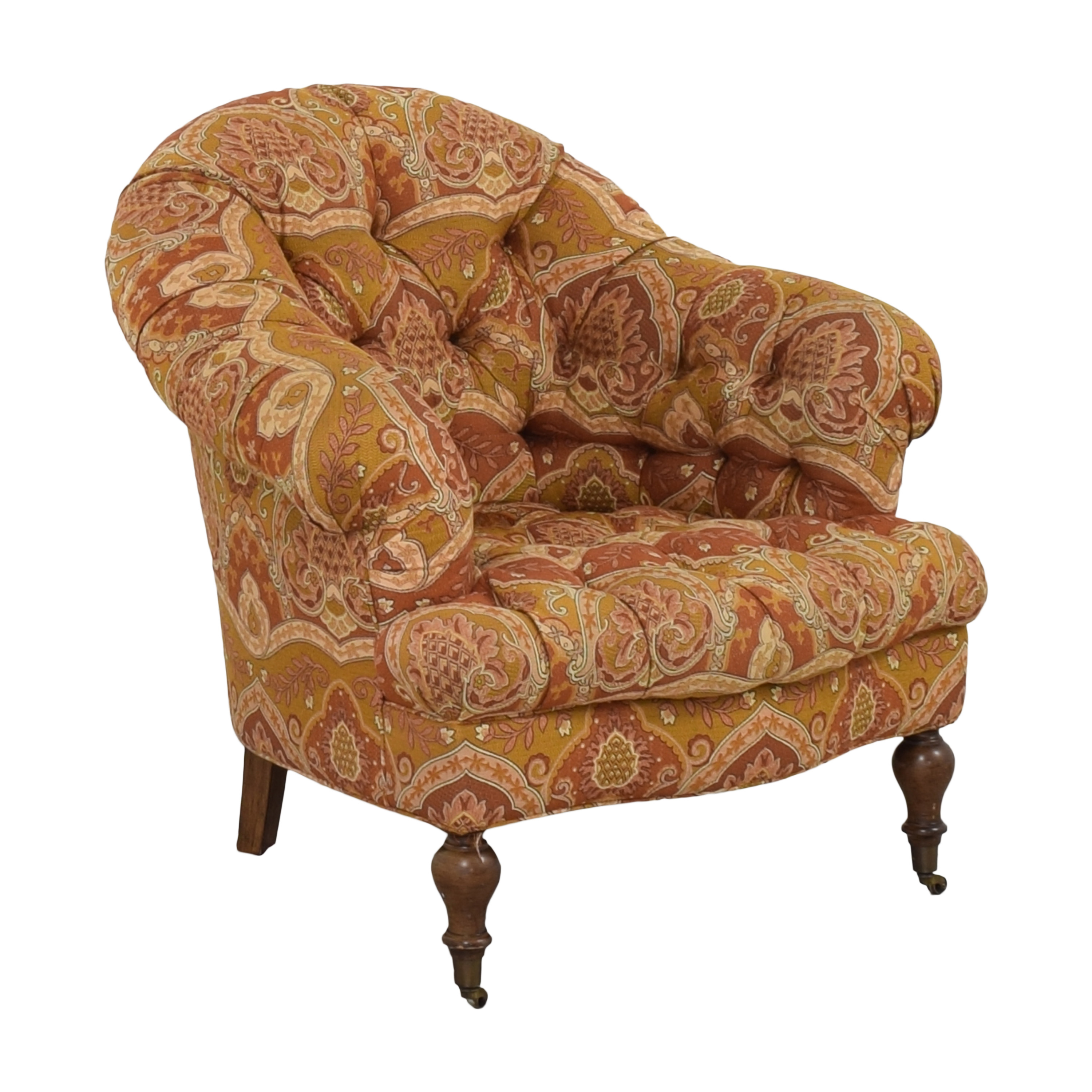 O. Henry House O Henry House Chesterfield Chair for sale
