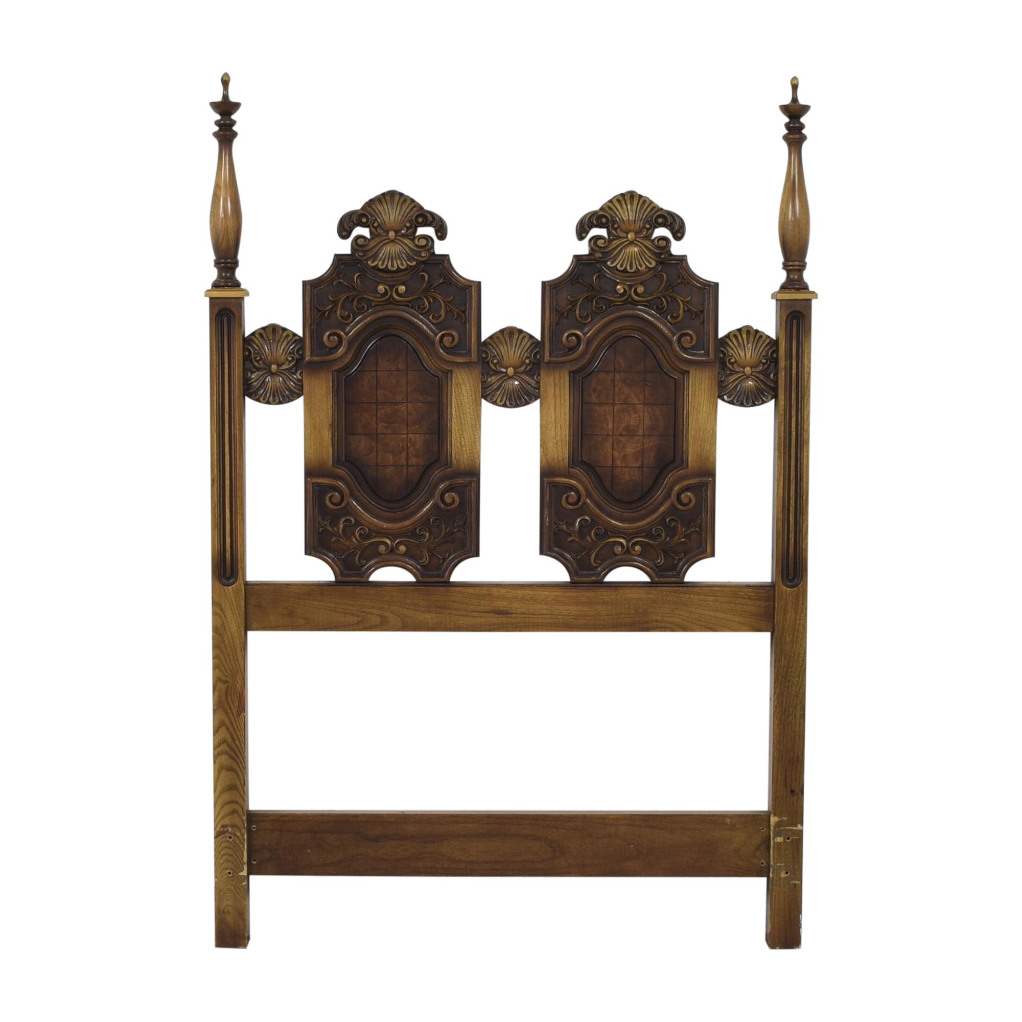 shop  Vintage Twin Wood Headboard online