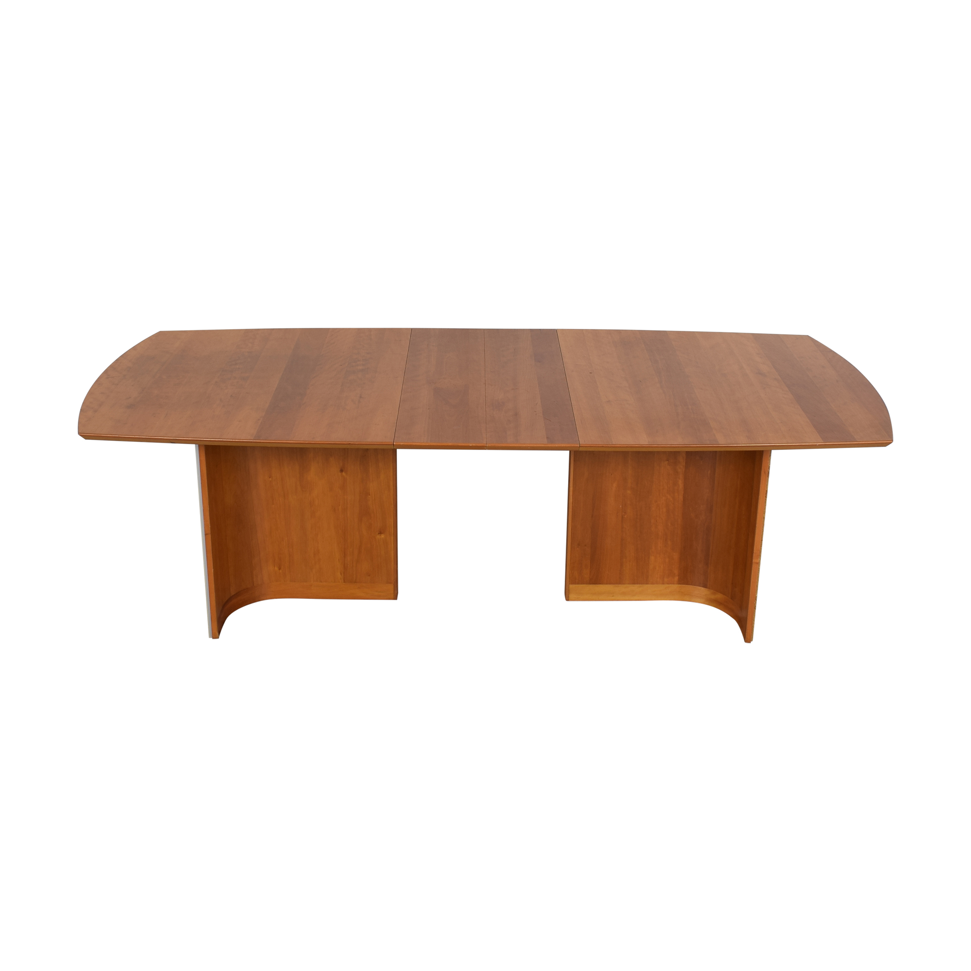 Mid Century Modern Style Extendable Dining Table pa