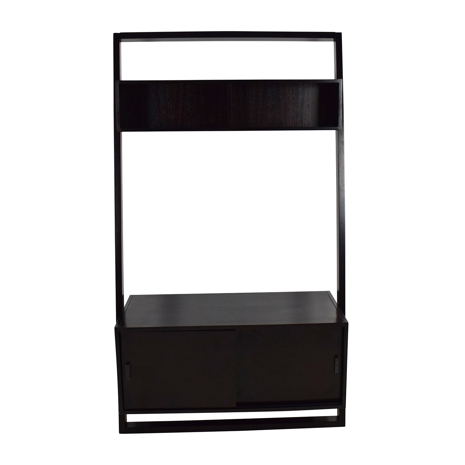 Crate and Barrel Crate & Barrel Sloane Leaning Media Stand price