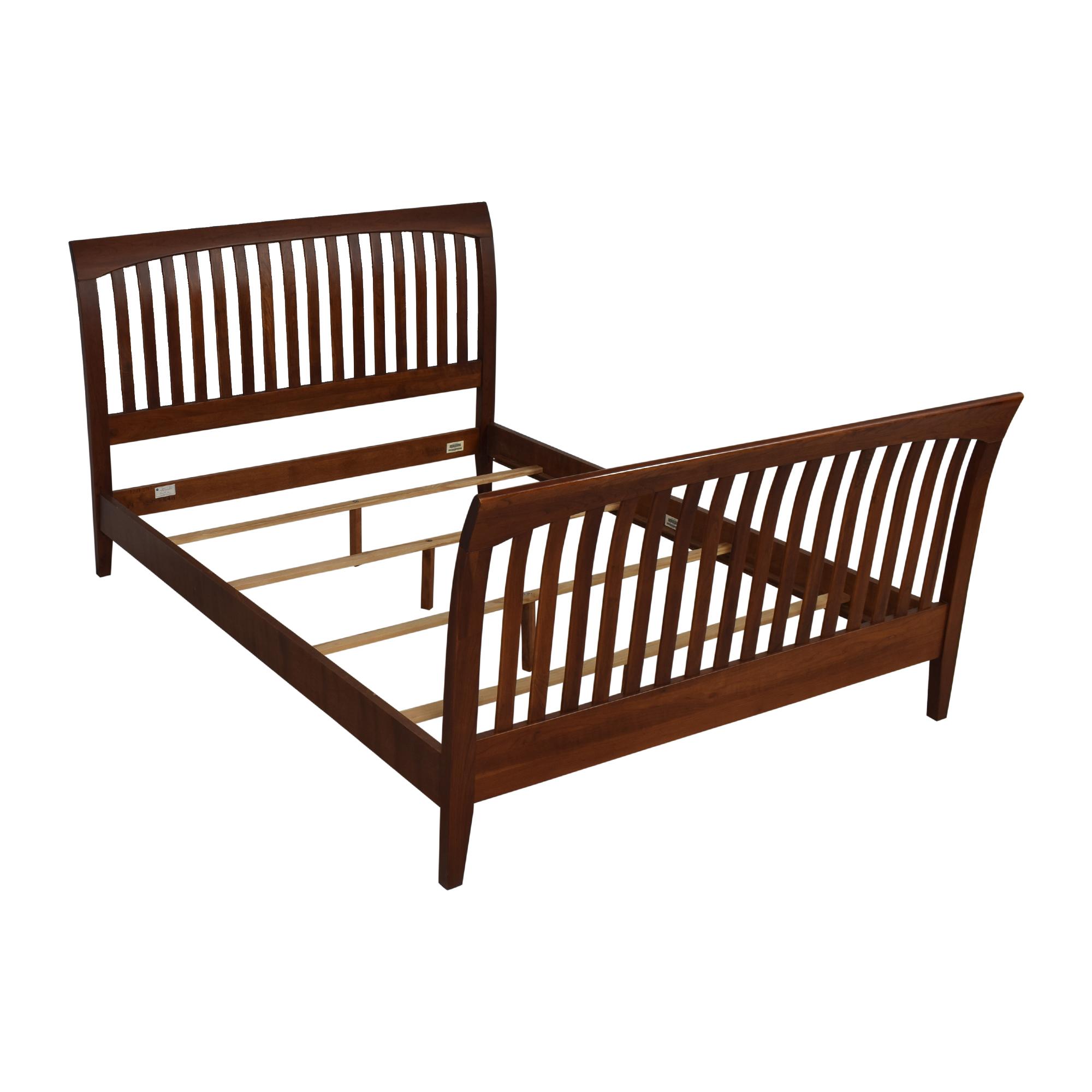 Ethan Allen Ethan Allen American Impressions Queen Sleigh Bed Frame Bed Frames
