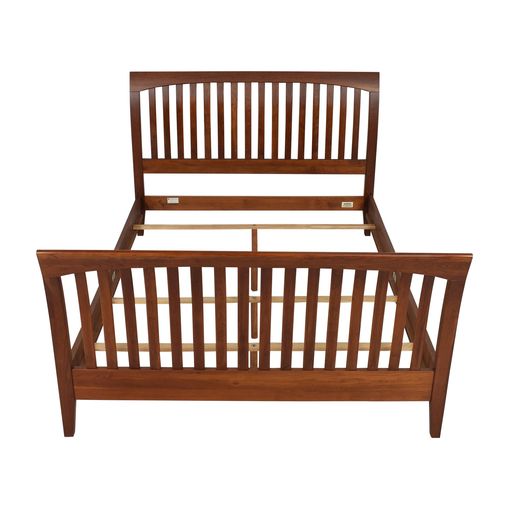 Ethan Allen Ethan Allen American Impressions Queen Sleigh Bed Frame ct