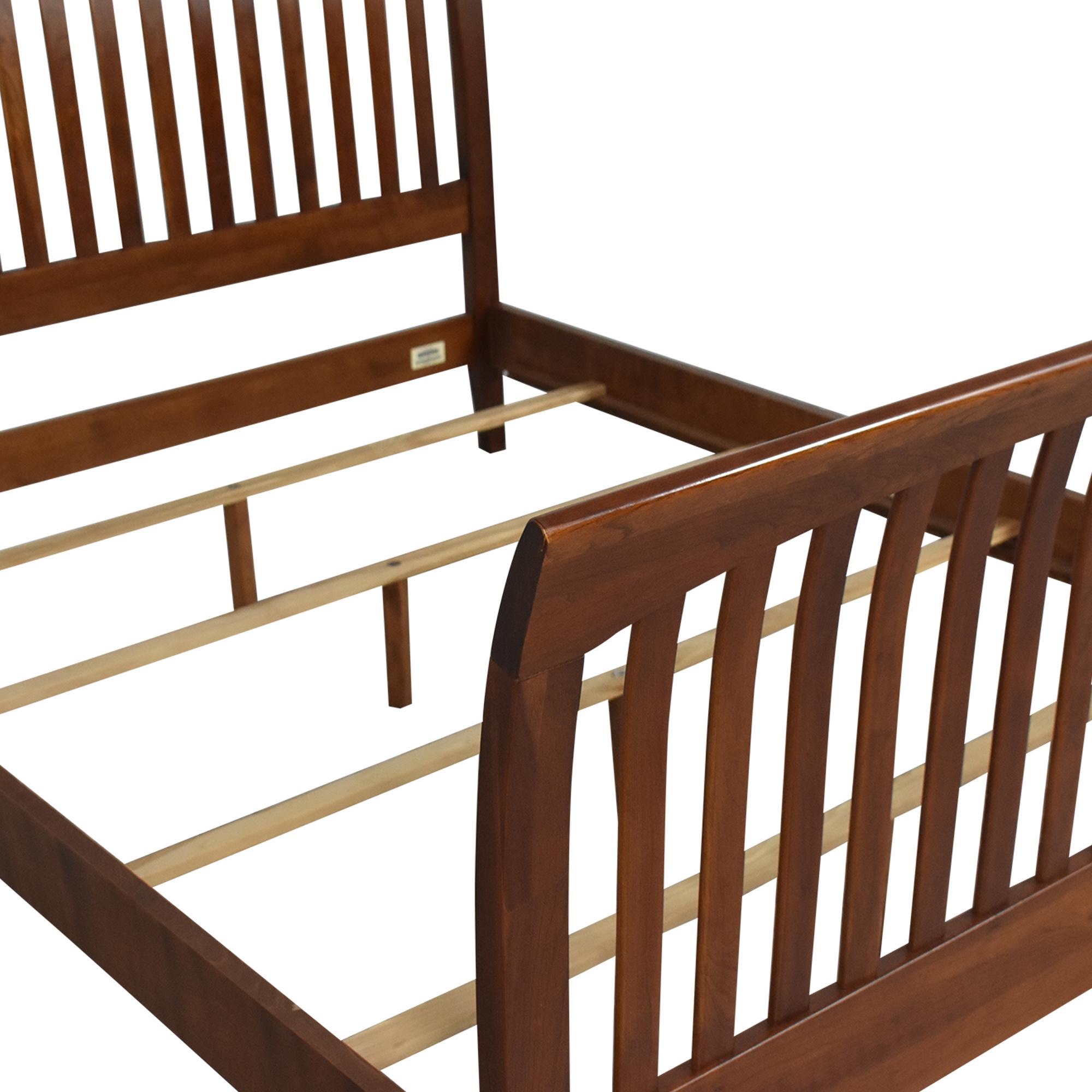 buy Ethan Allen Ethan Allen American Impressions Queen Sleigh Bed Frame online
