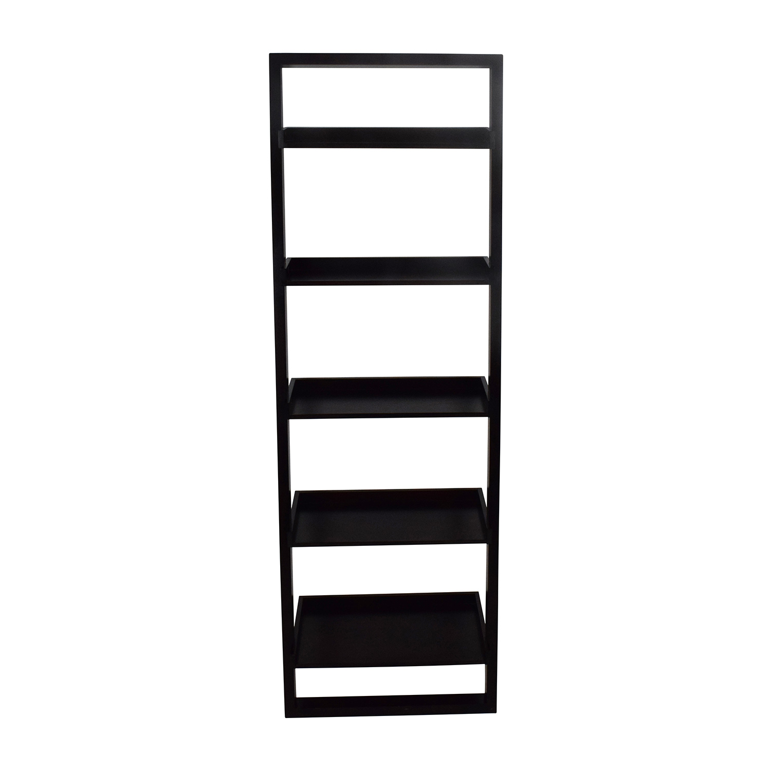 Crate and Barrel Crate & Barrel Sloane Leaning Bookcase nyc