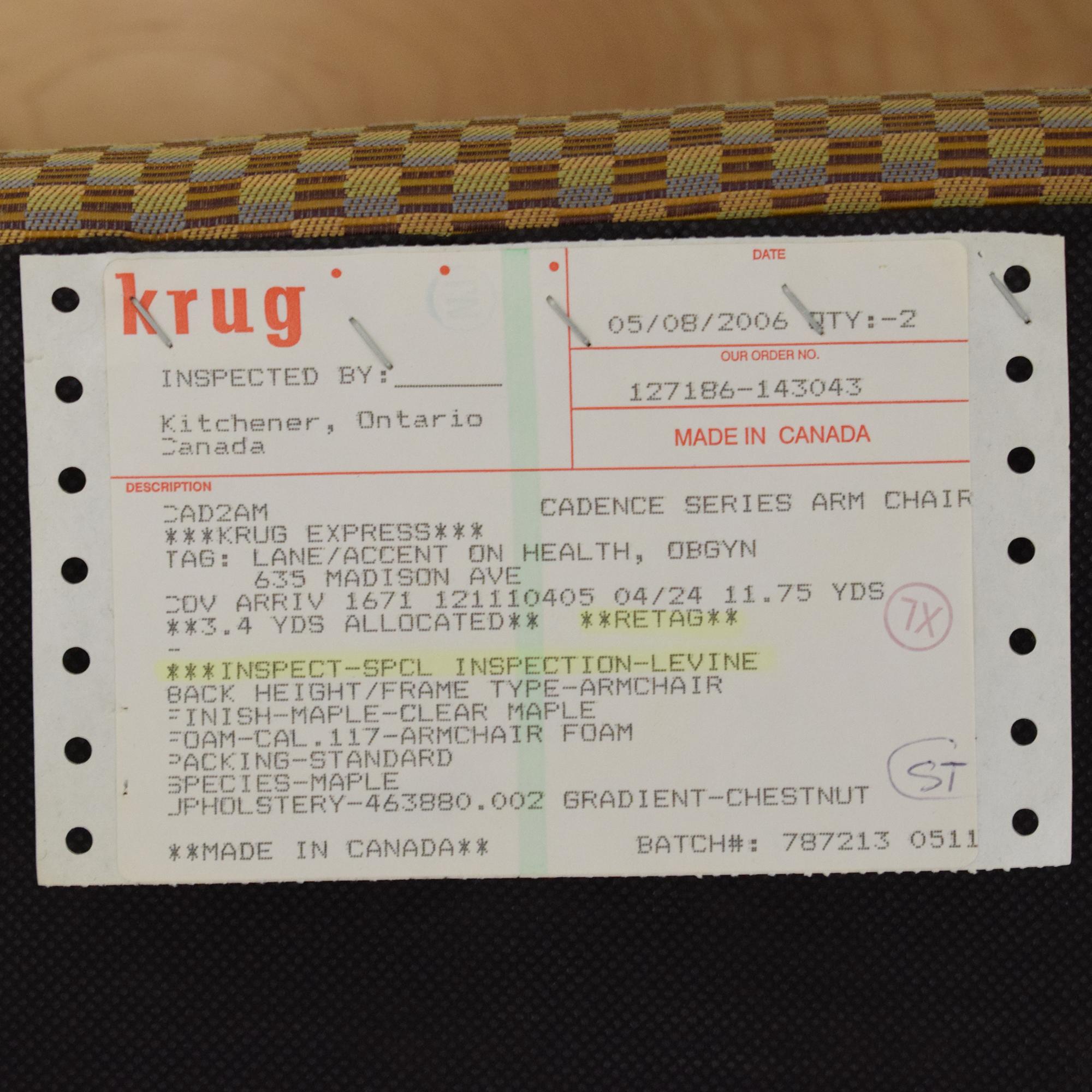 Krug Krug Cadence Guest Chair nj