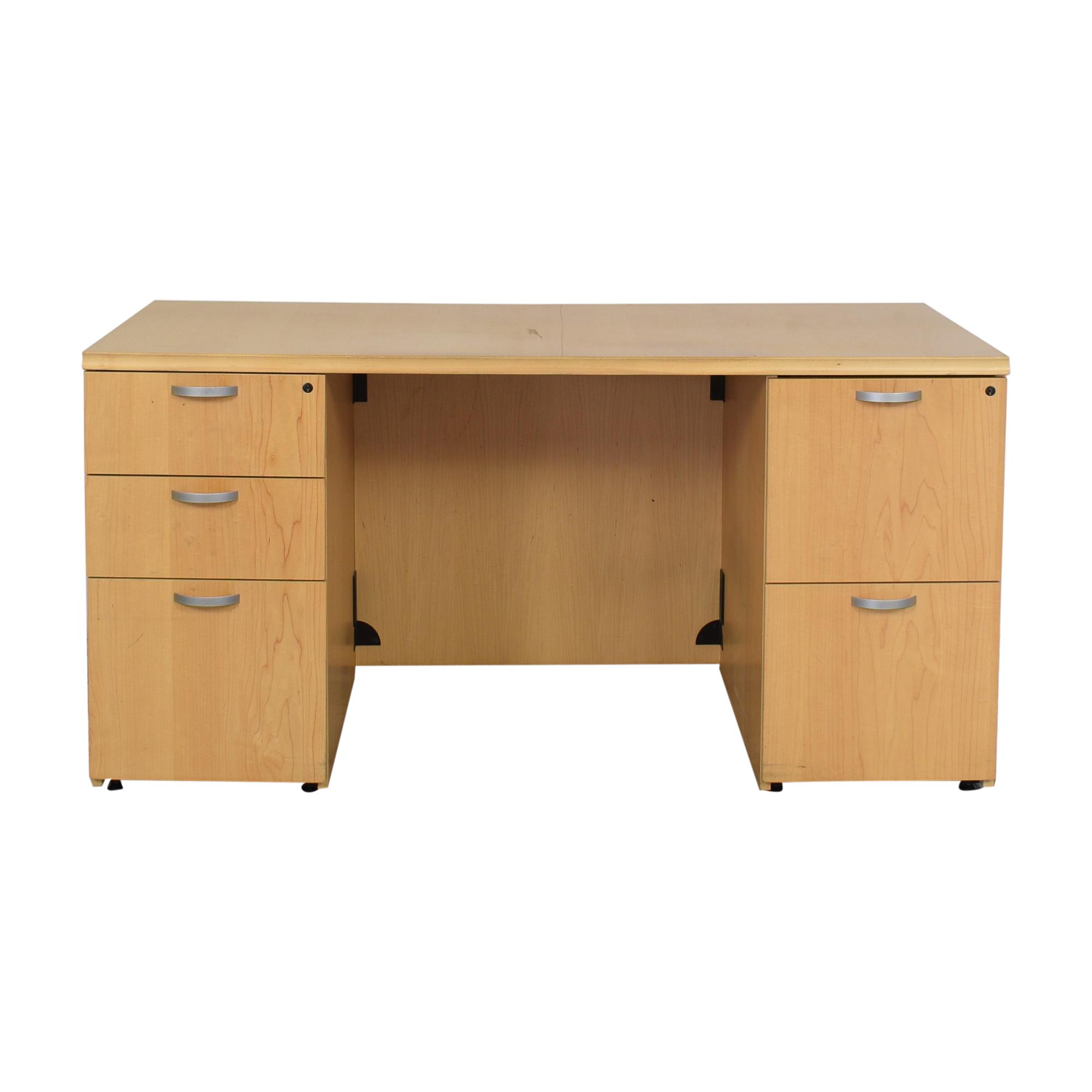 Krug Krug Pedastal Desk second hand