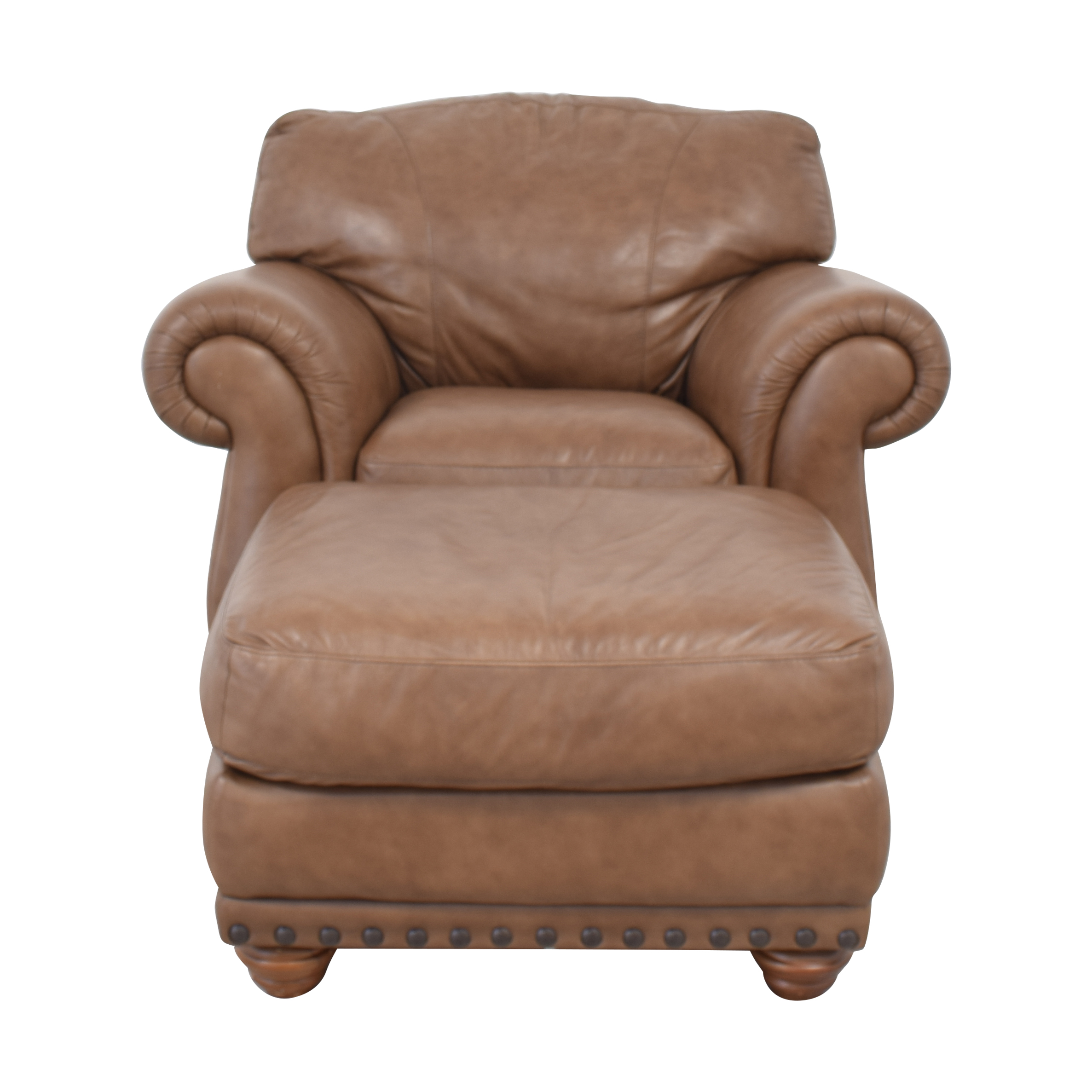 Italsofa Accent Chair with Ottoman / Accent Chairs