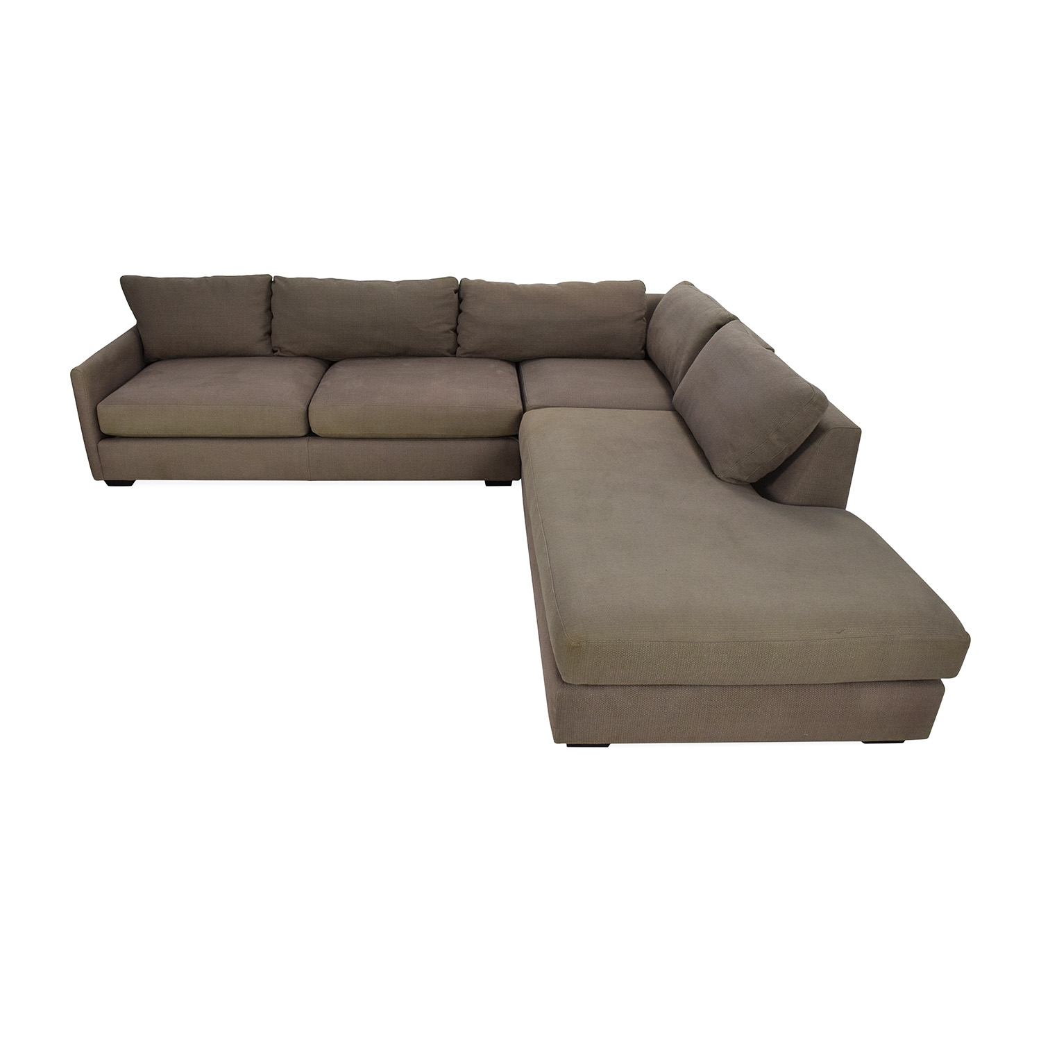 Crate & Barrel Domino Sectional Sofa / Sofas