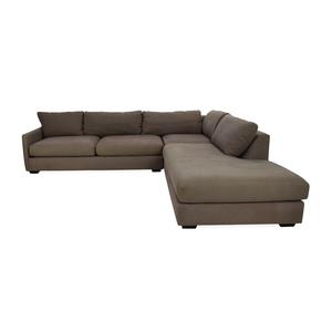 buy Crate & Barrel Crate & Barrel Domino Sectional Sofa online