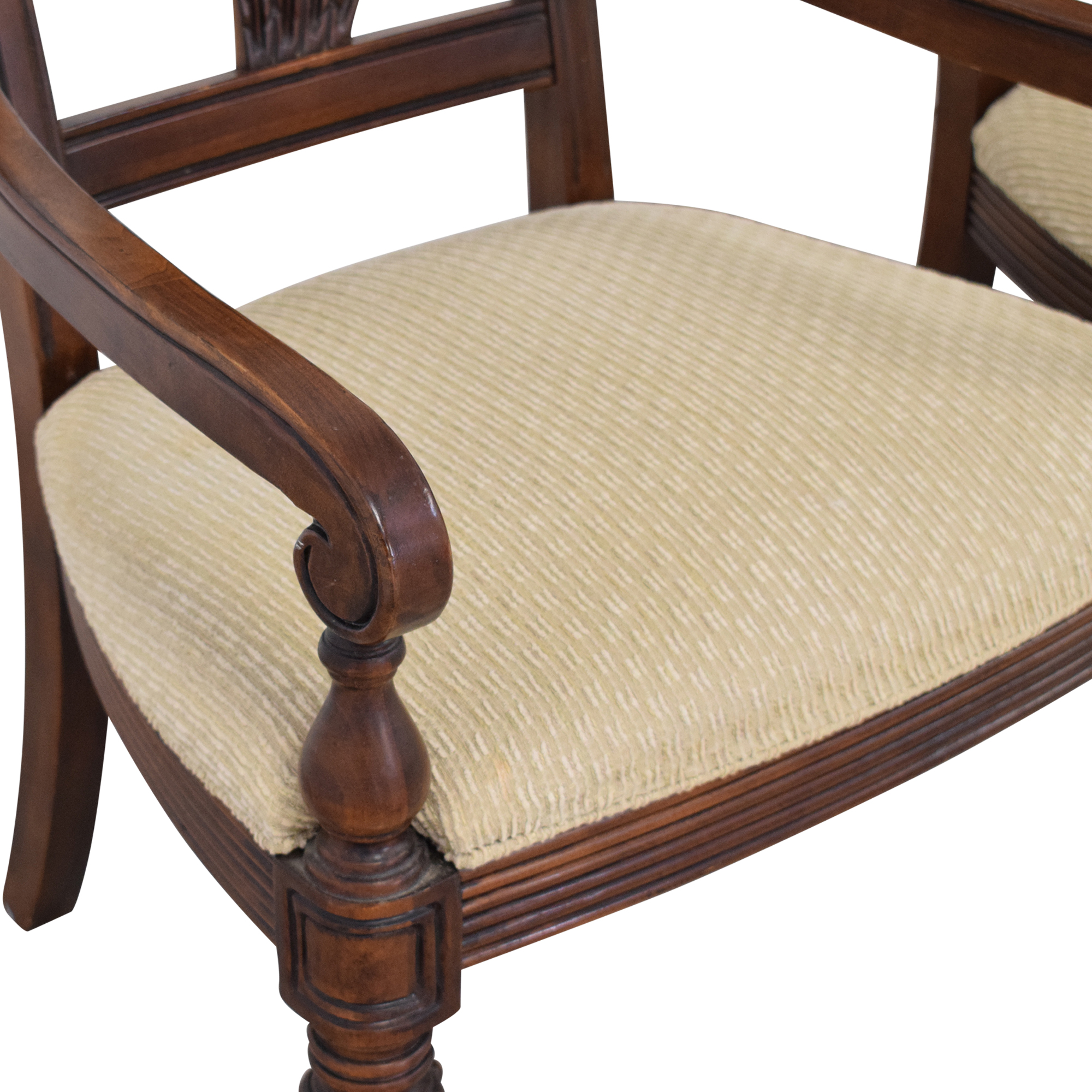 shop Thomasville Ernest Hemingway Collection Dining Chairs Thomasville