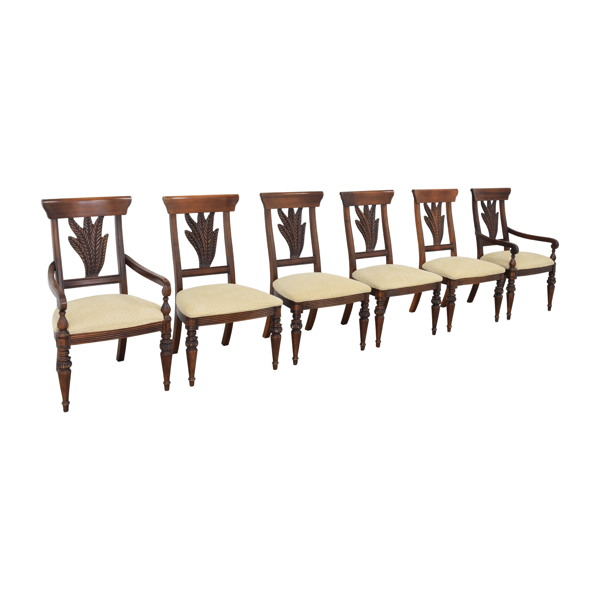 Thomasville Thomasville Ernest Hemingway Collection Dining Chairs pa