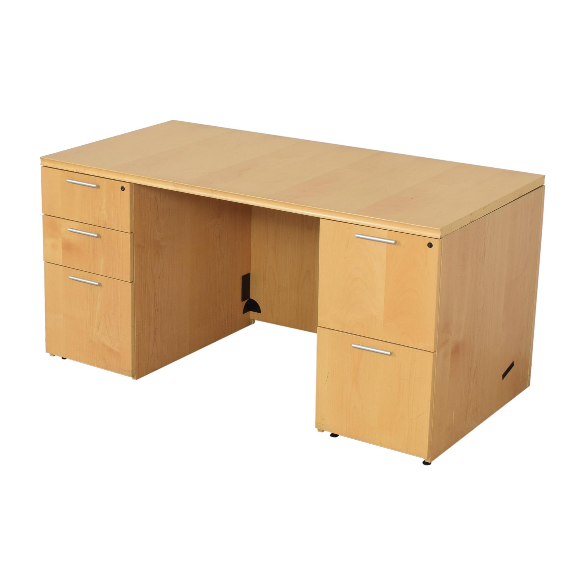 Krug Pedastal Desk / Tables