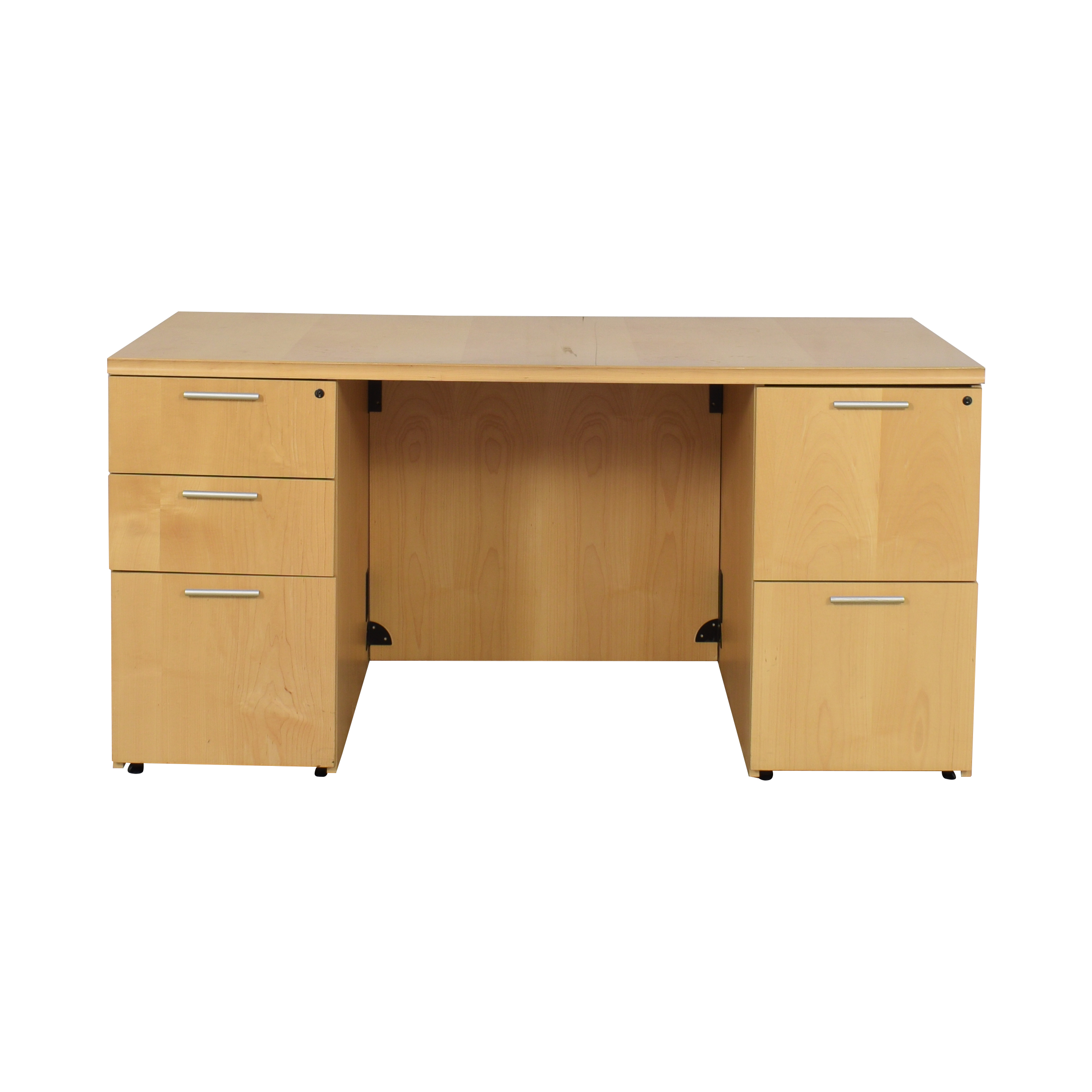 Krug Krug Pedastal Desk nj
