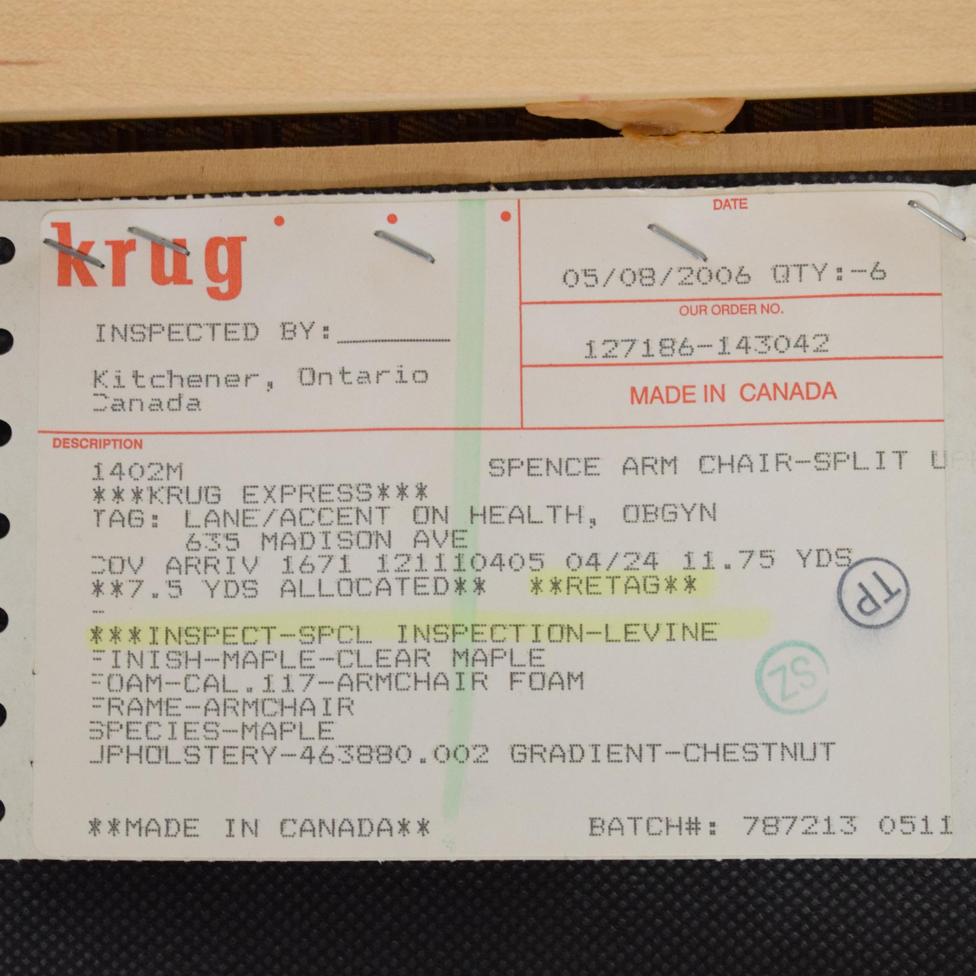Krug Krug Cadence Tall Guest Chair pa