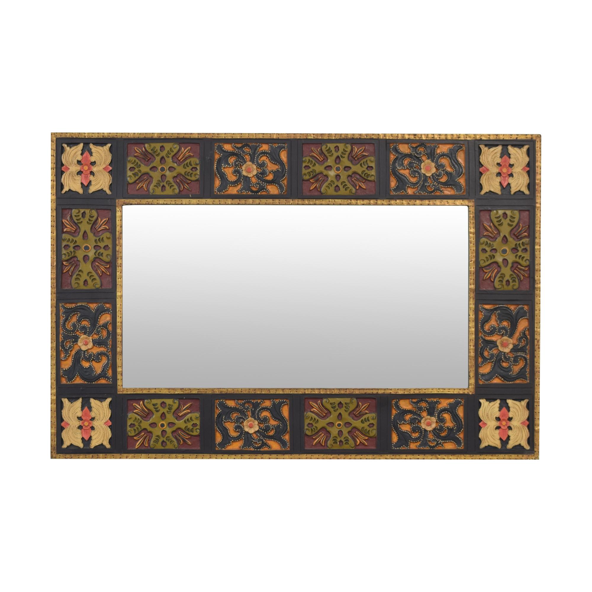 Pier 1 Pier 1 Block Framed Wall Mirror coupon