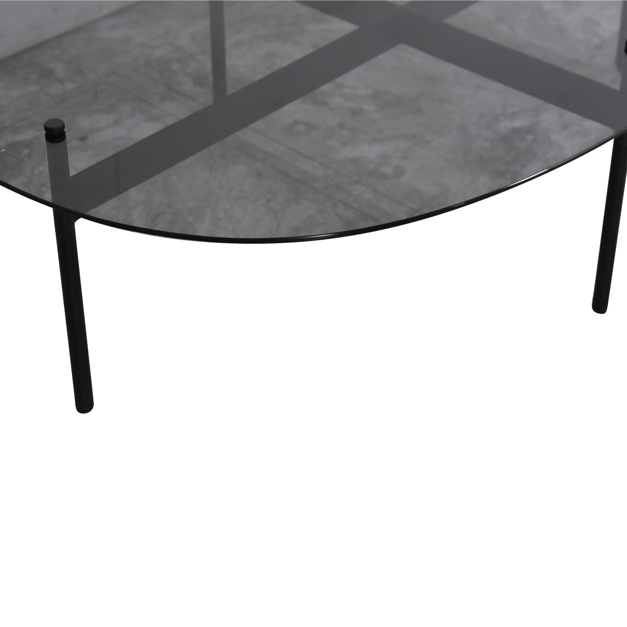 Blu Dot Flume Swoval Coffee Table / Tables