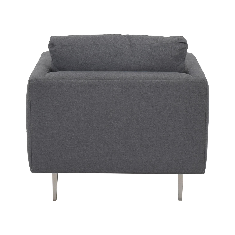 ABC Carpet & Home ABC Carpet & Home Cobble Hill Curbed Chair ma