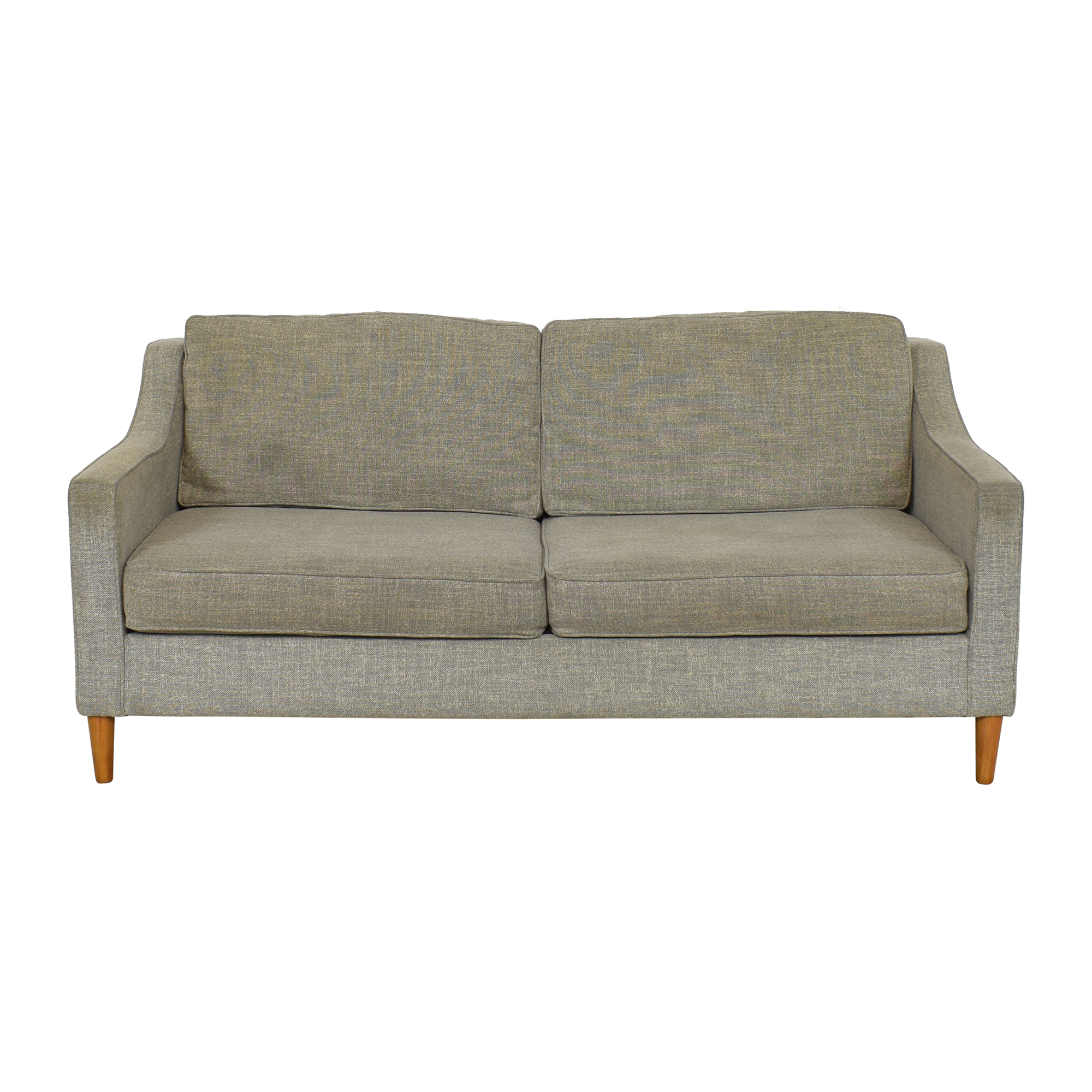 buy West Elm Two Cushion Sofa West Elm Classic Sofas