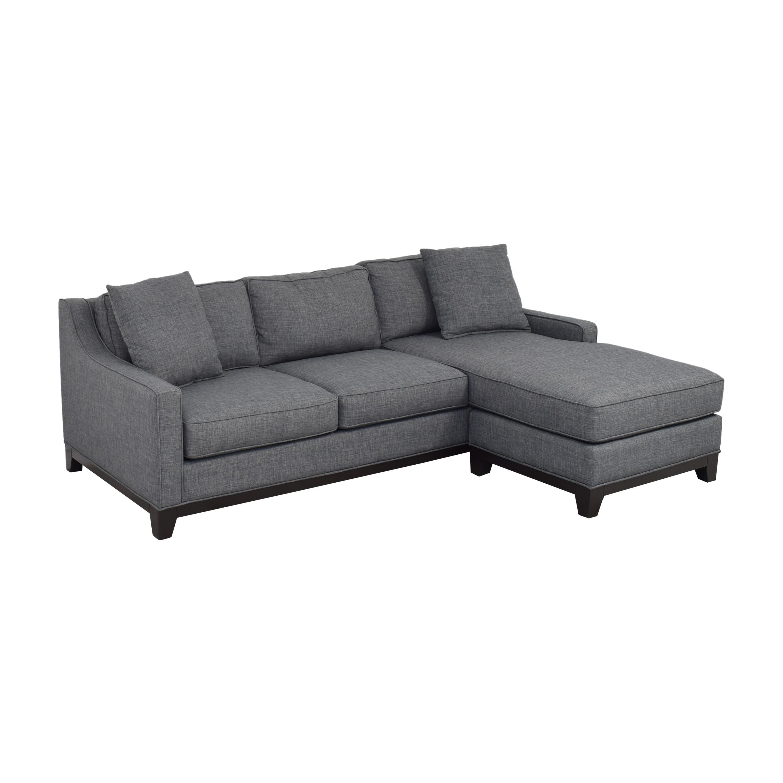 Macy's Macy's Keegan 2-Piece Fabric Reversible Chaise Sectional Sofa price