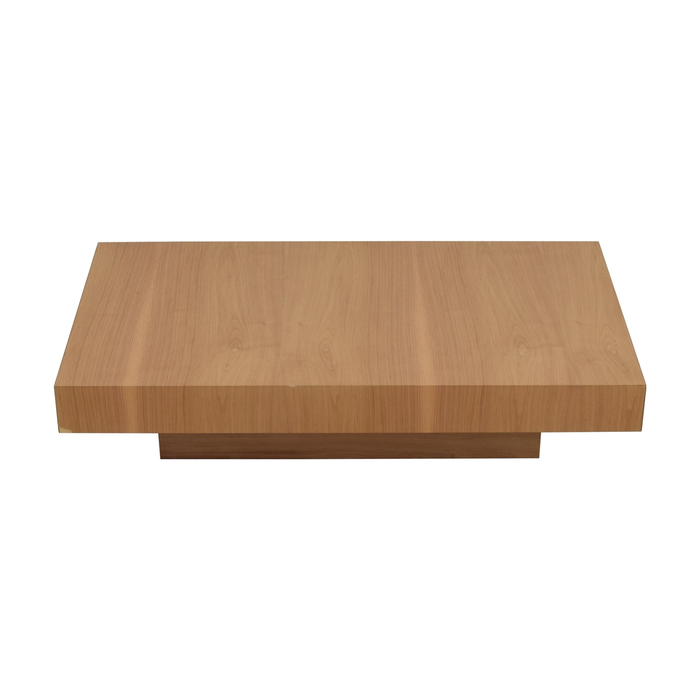 Nella Vetrina Nella Vetrina Momo-20 Walnut Coffee Table Tables