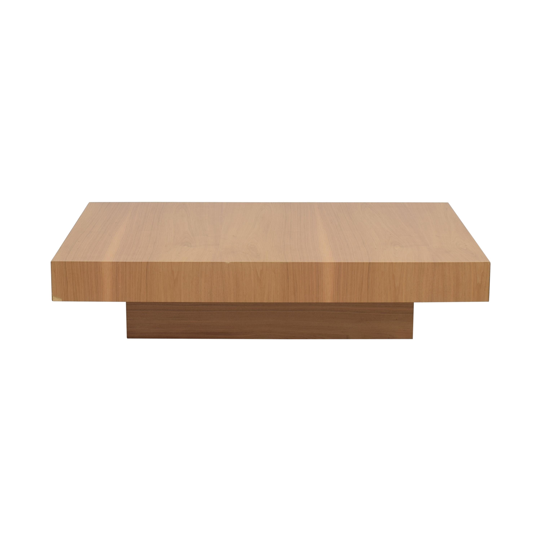 buy Nella Vetrina Momo-20 Walnut Coffee Table Nella Vetrina