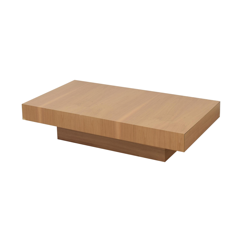 Nella Vetrina Nella Vetrina Momo-20 Walnut Coffee Table discount