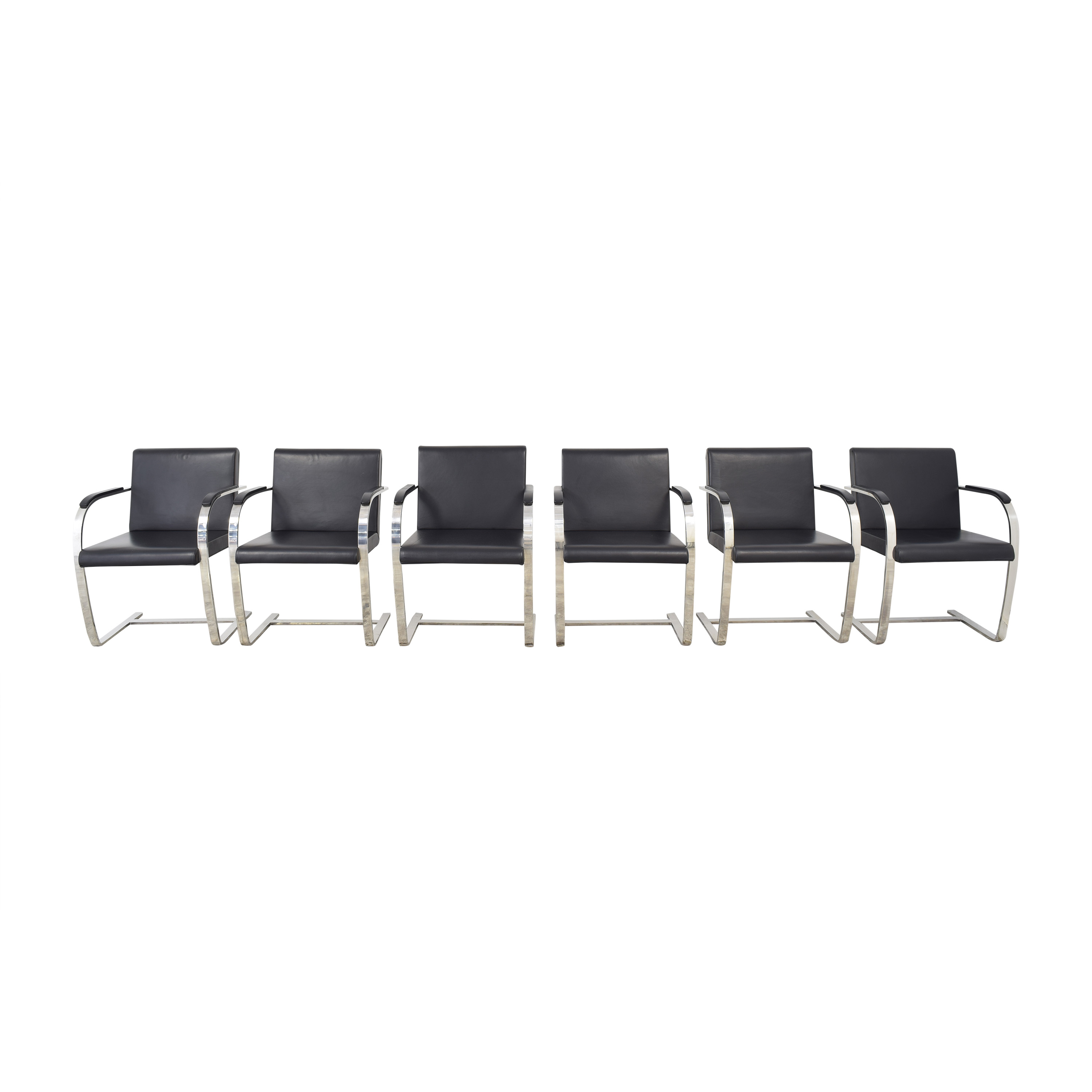 France and Son France & Son Ludwig Cantilevered Armchairs pa