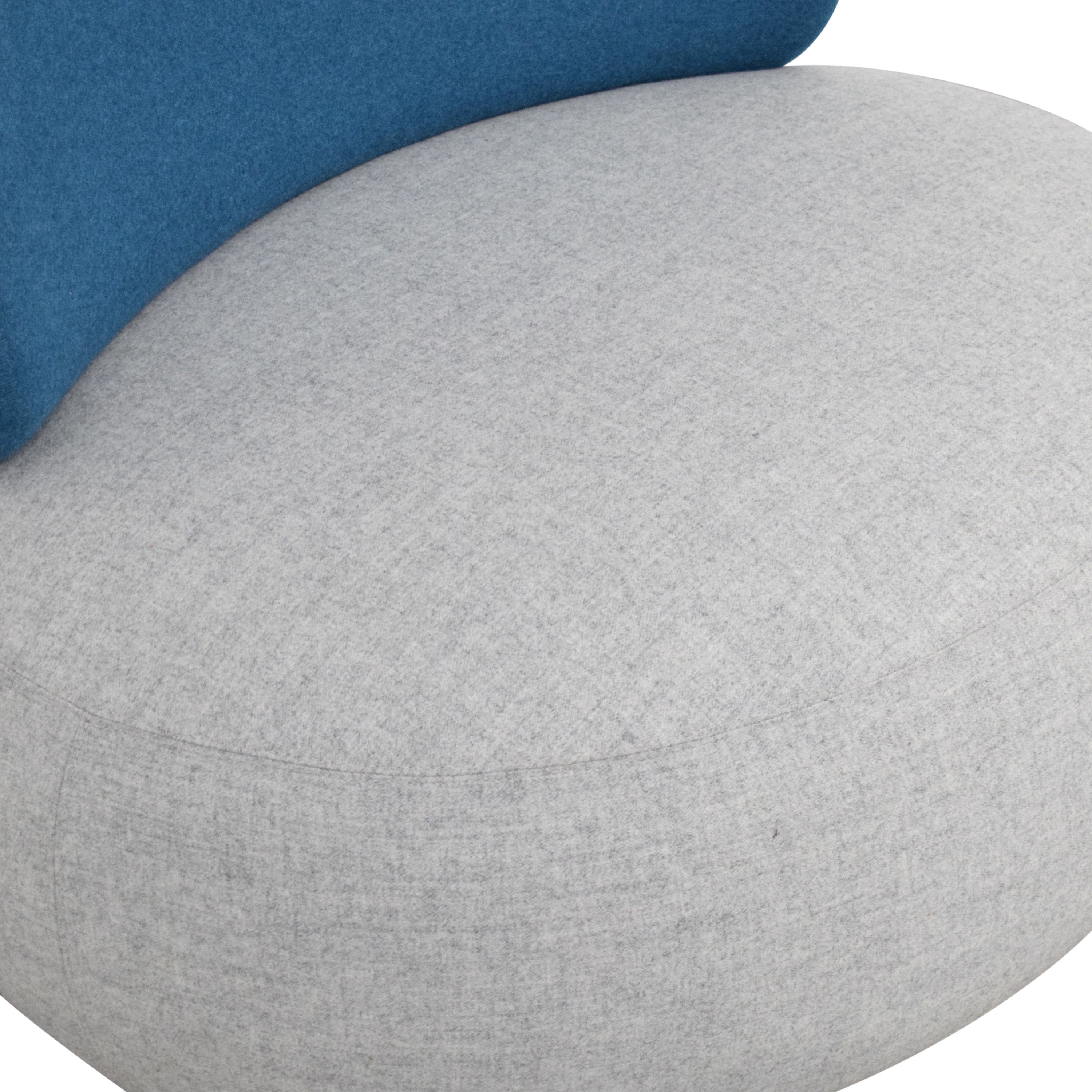 Koleksiyon Solis Pouf with Backrest Koleksiyon