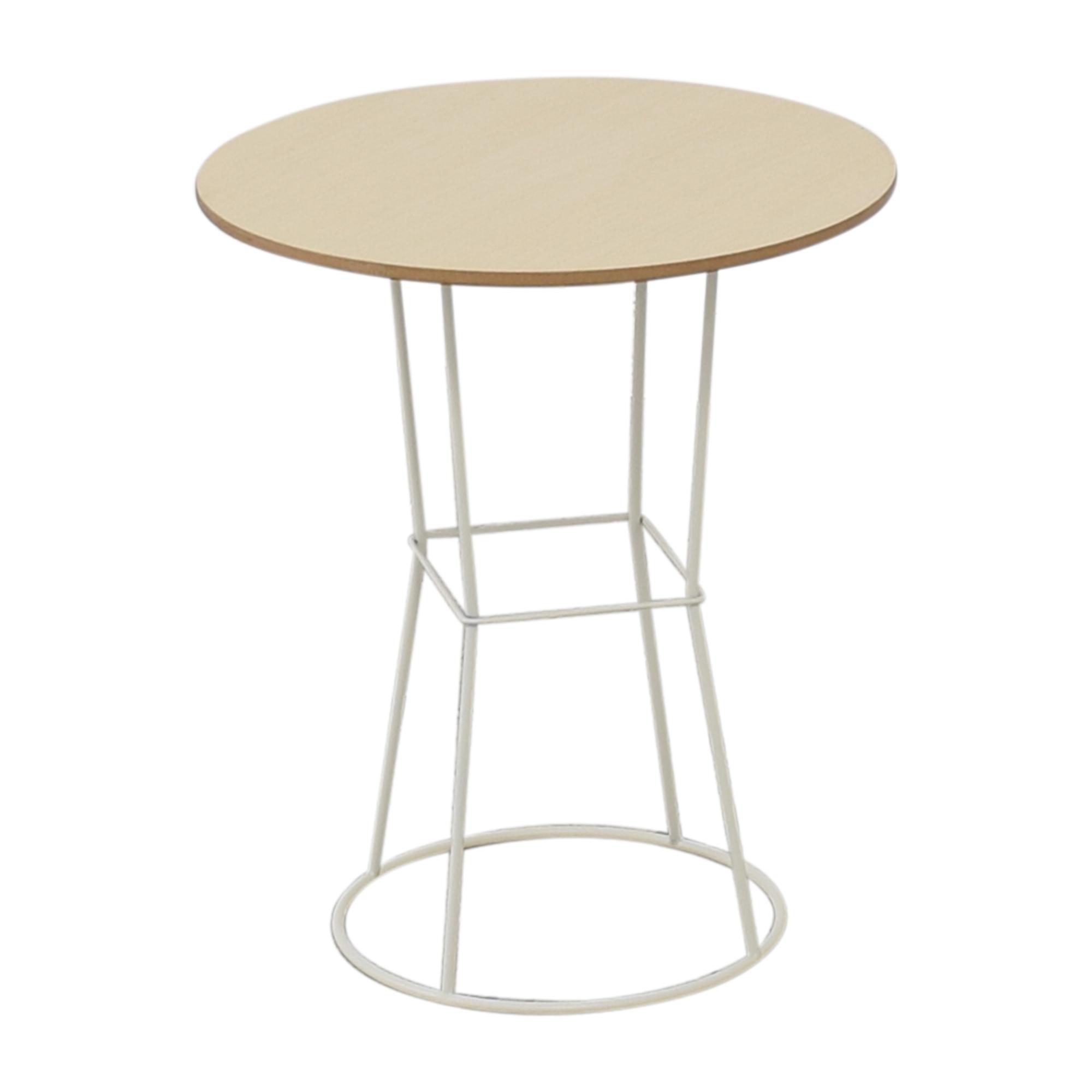 Koleksiyon Koleksiyon Plan Round Coffee Table or Side Table LIGHT BROWN