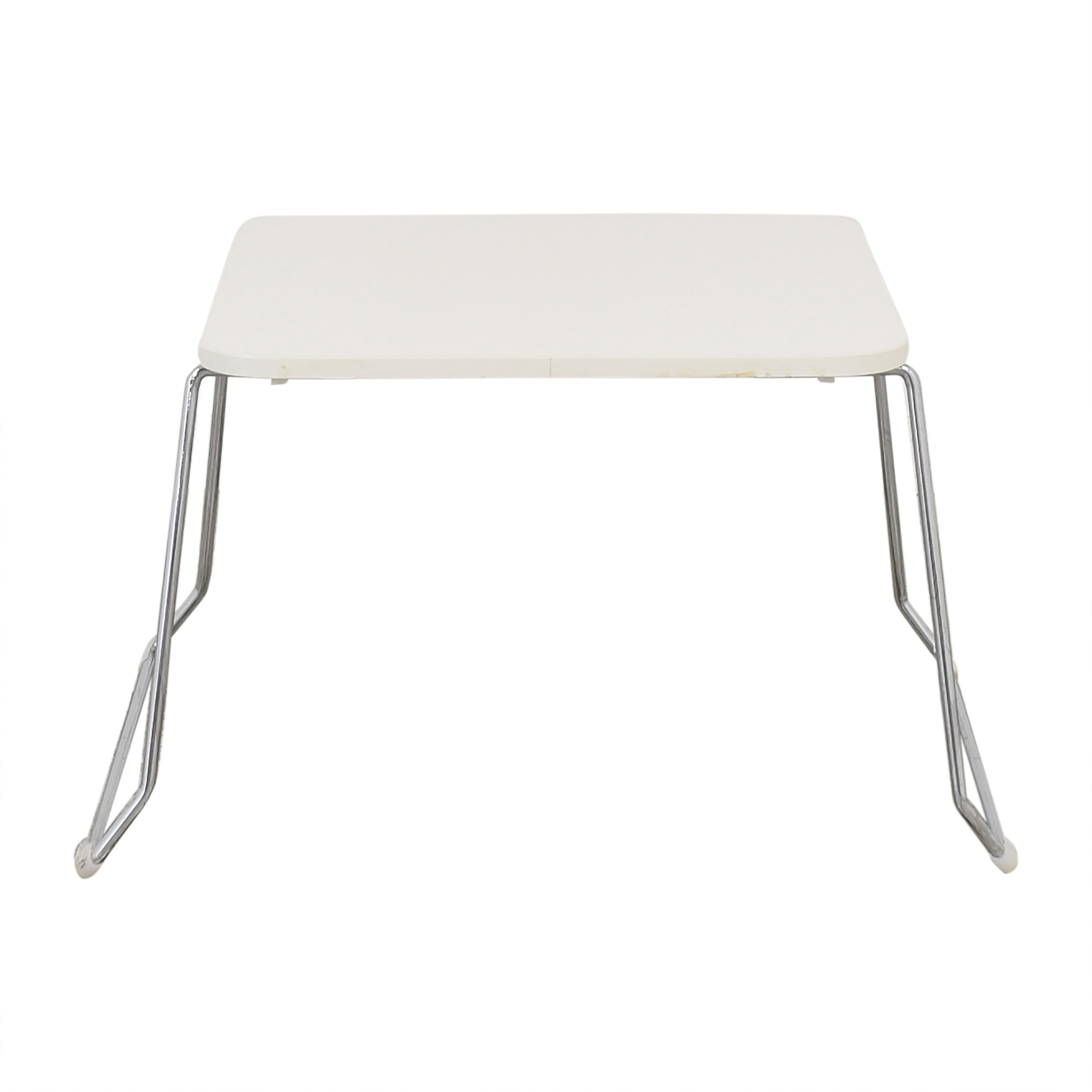 Koleksiyon Koleksiyion Asanda End Table white and silver
