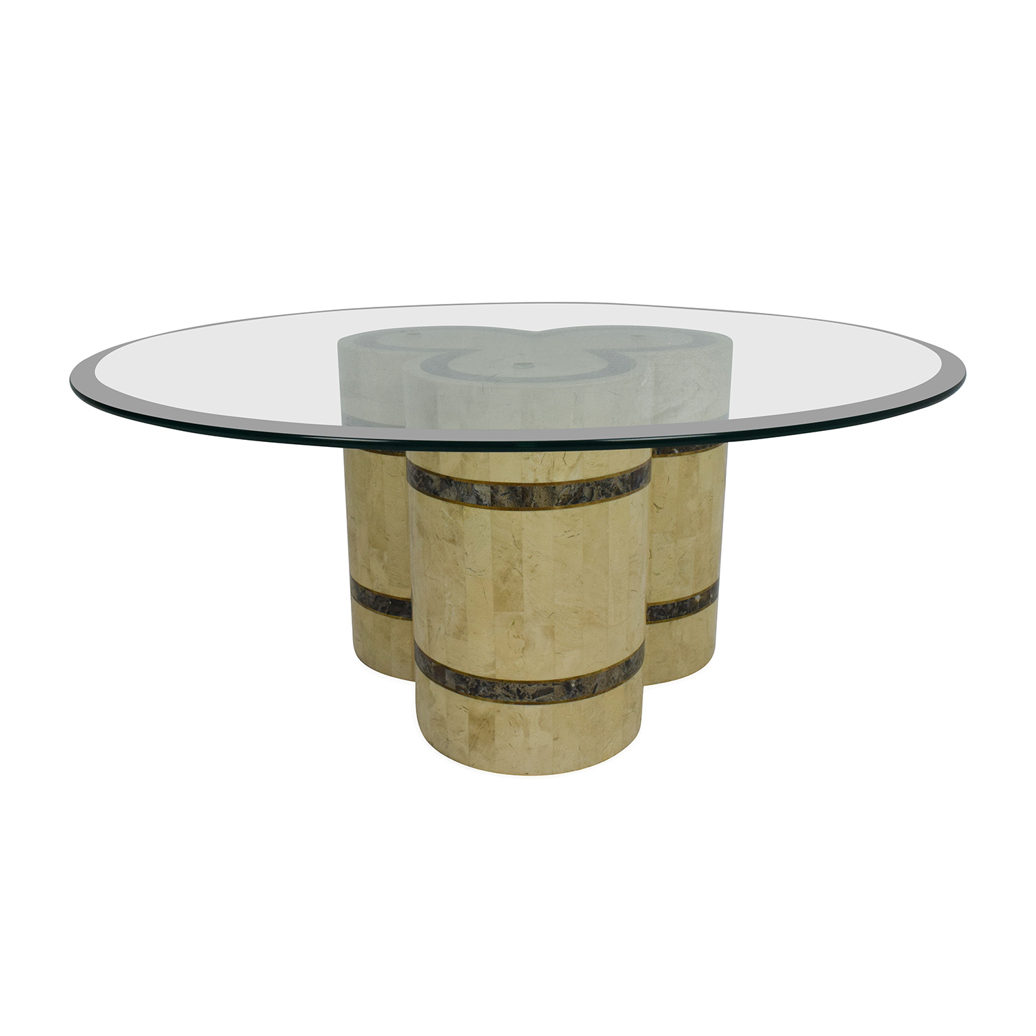 shop Vintage Glass Coffee Table Unknown Brand Tables